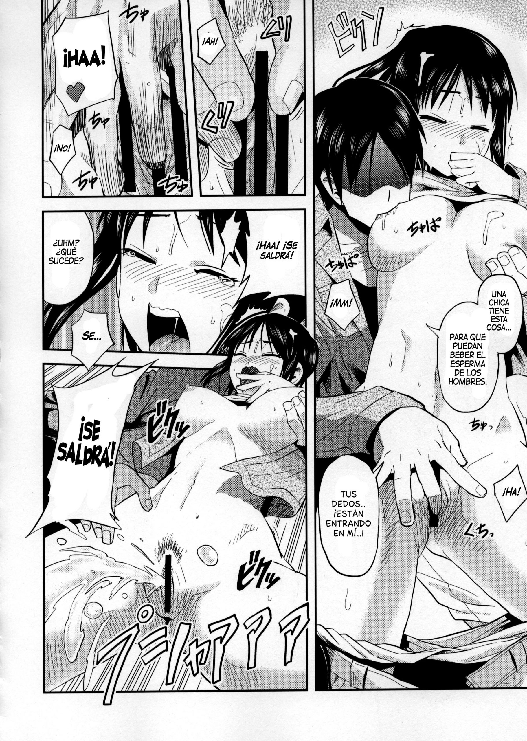 Attack on hungry girl hentai manga picture 11