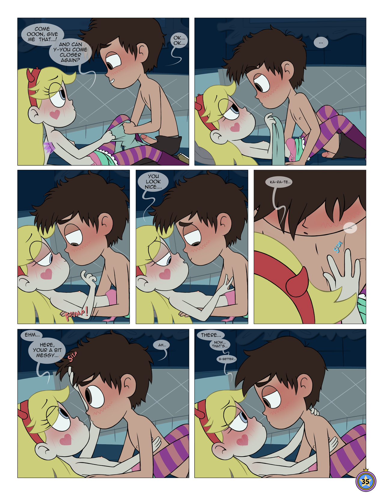 Between friends porn comic picture 036
