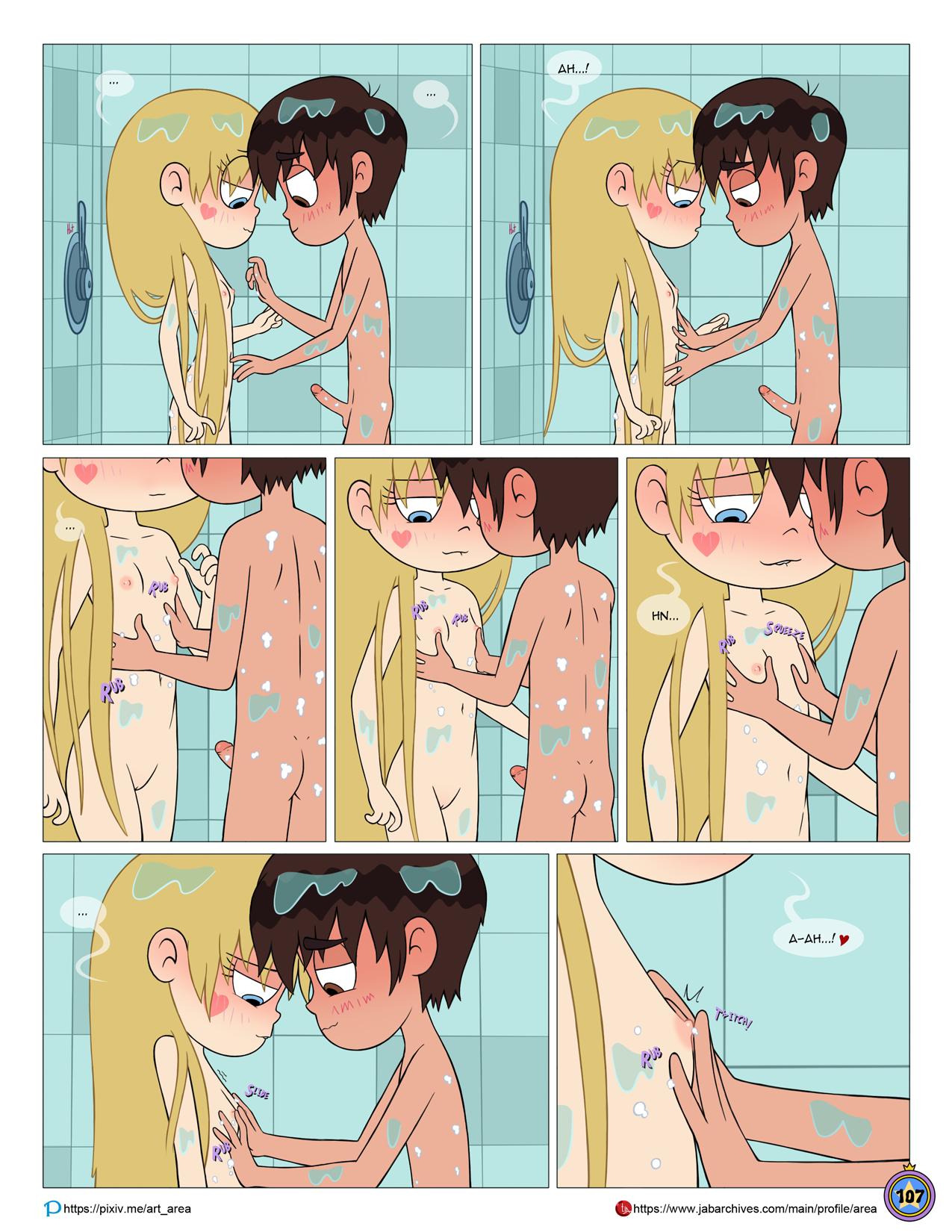 Between friends porn comic picture 108