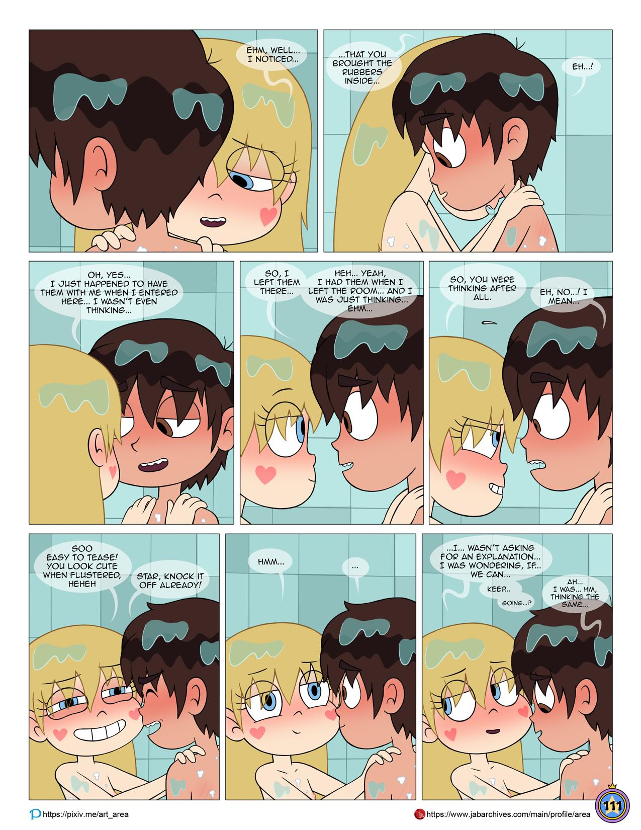 Between friends porn comic picture 112
