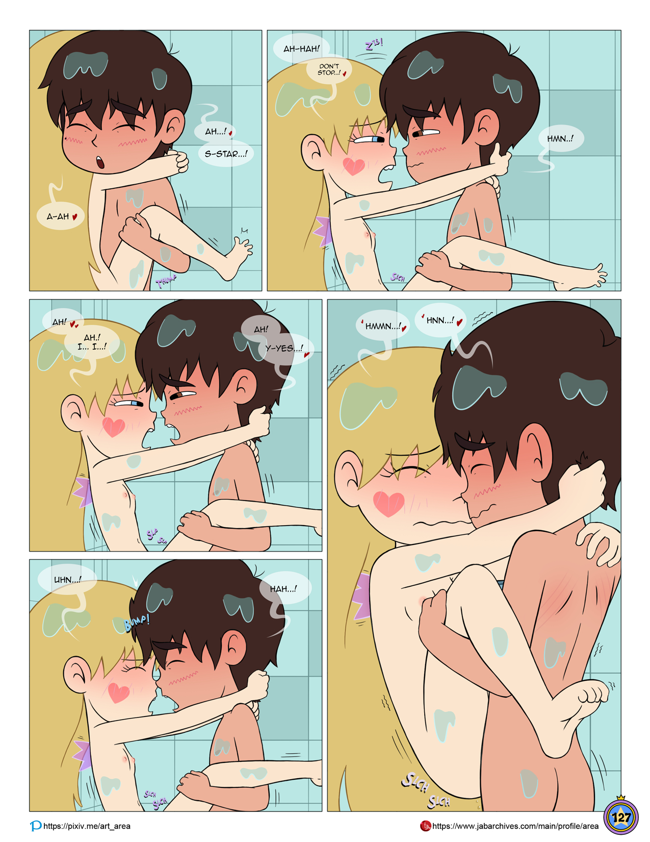 Between friends porn comic picture 128