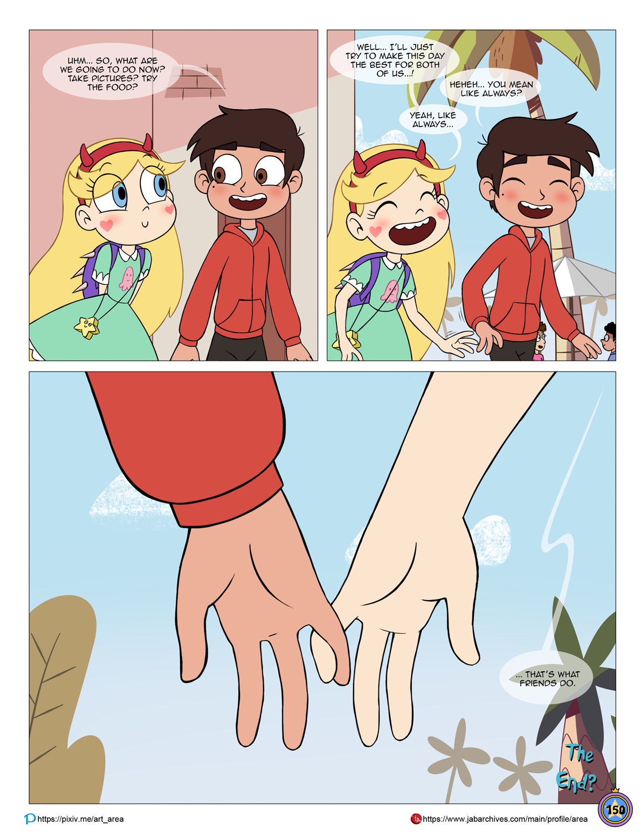 Between friends porn comic picture 150