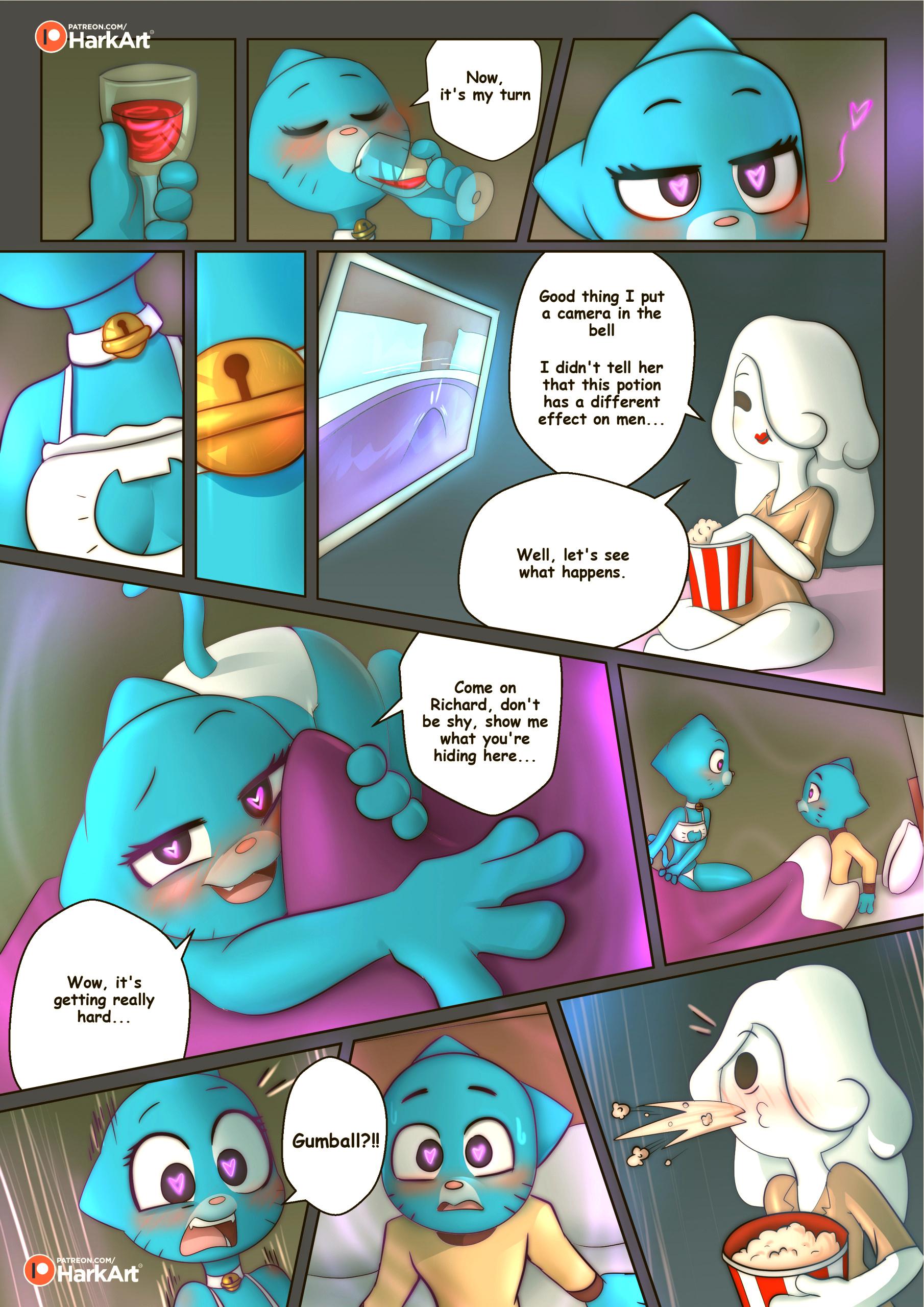 The amazing surprise porn comic picture 28
