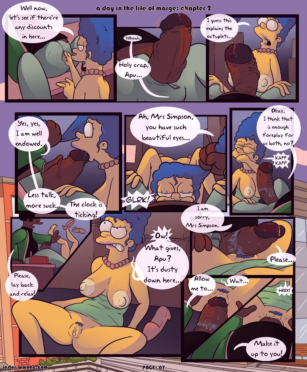 A day in the life of marge 2 porn comic picture 07