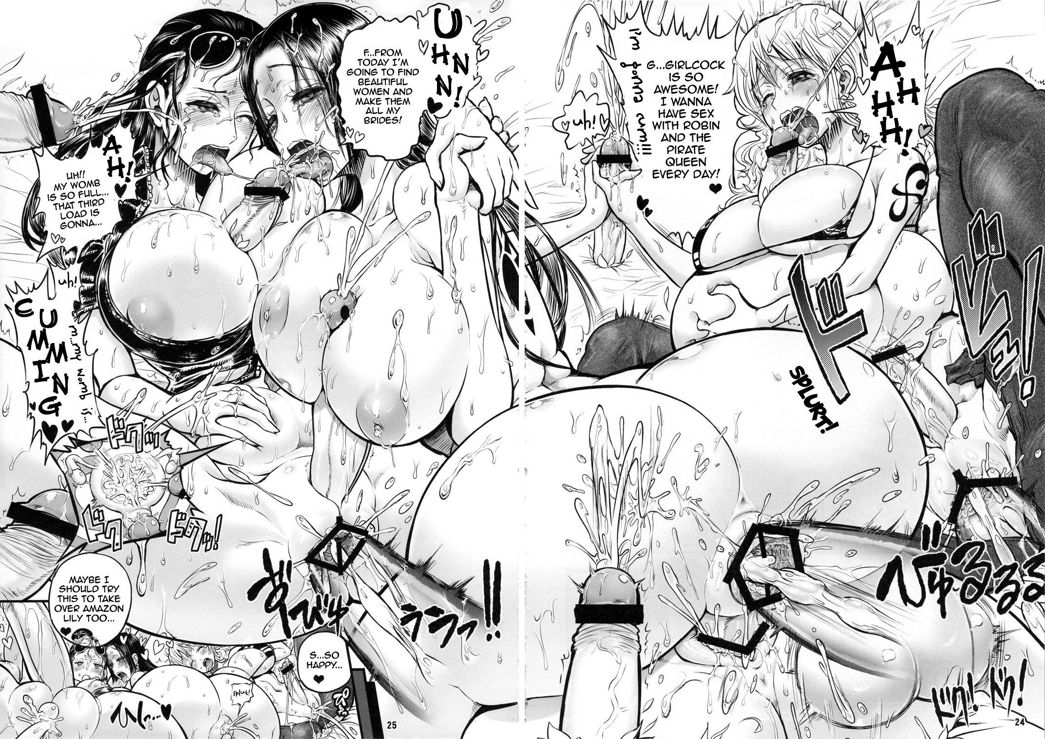 Bloom pirate hooker queen hentai manga picture 18