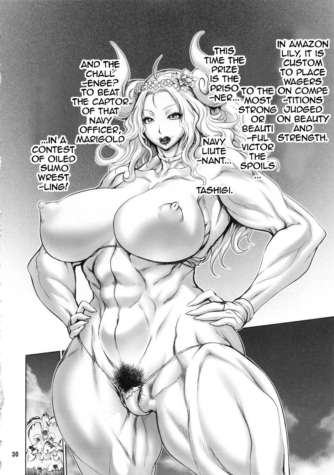 Bloom pirate hooker queen hentai manga picture 23