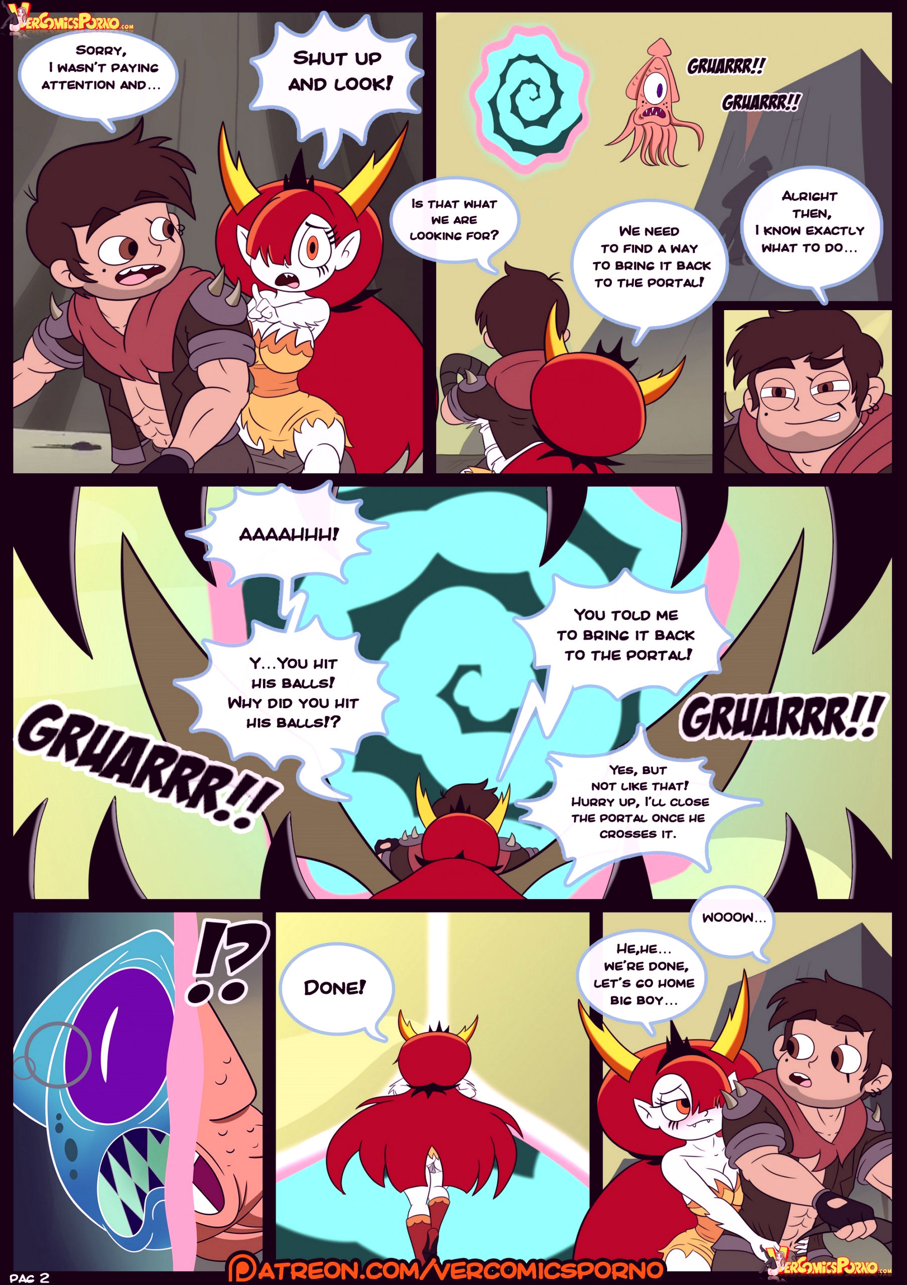 Marco vs the forces of time porn comic picture 03