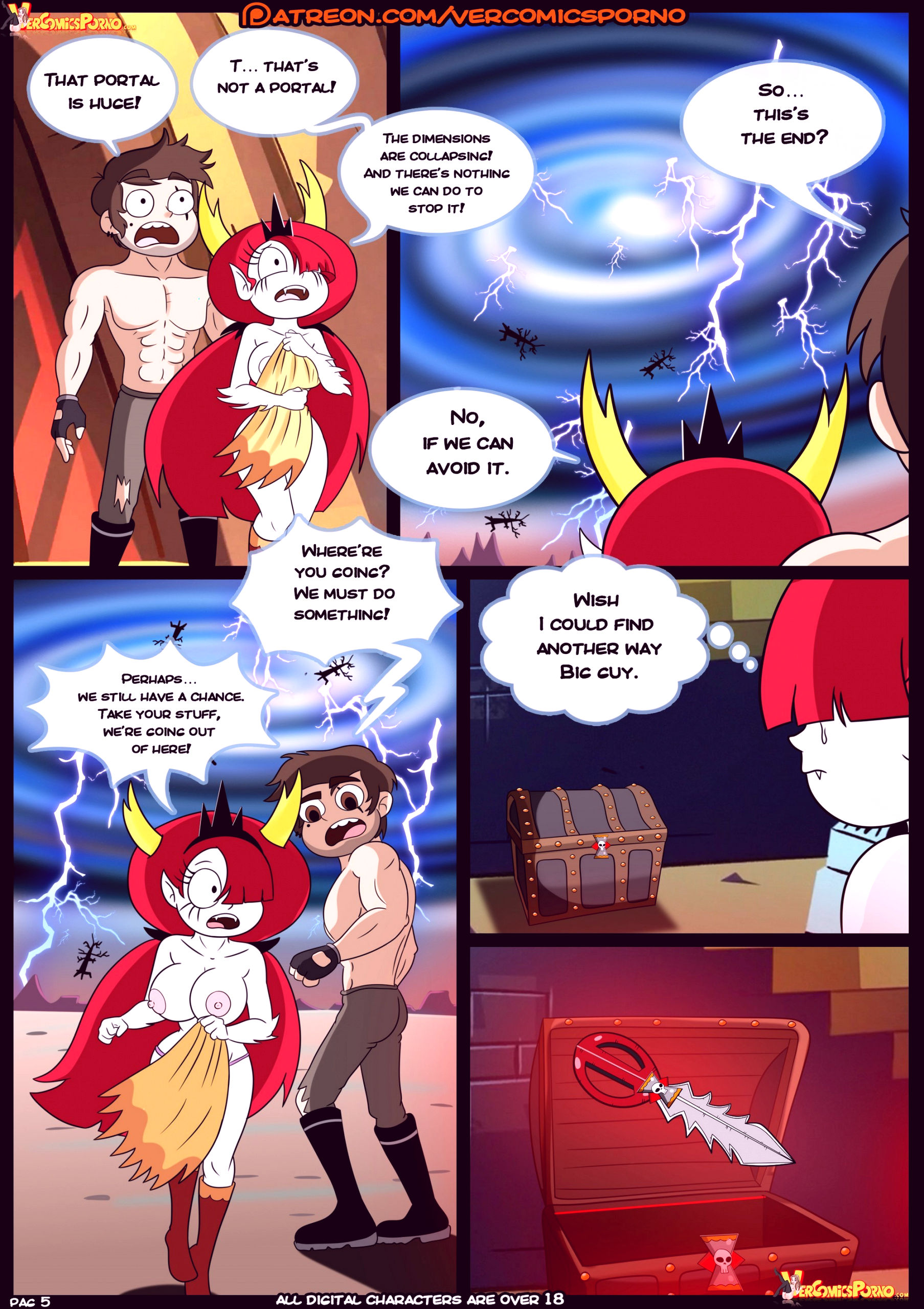 Marco vs the forces of time porn comic picture 06