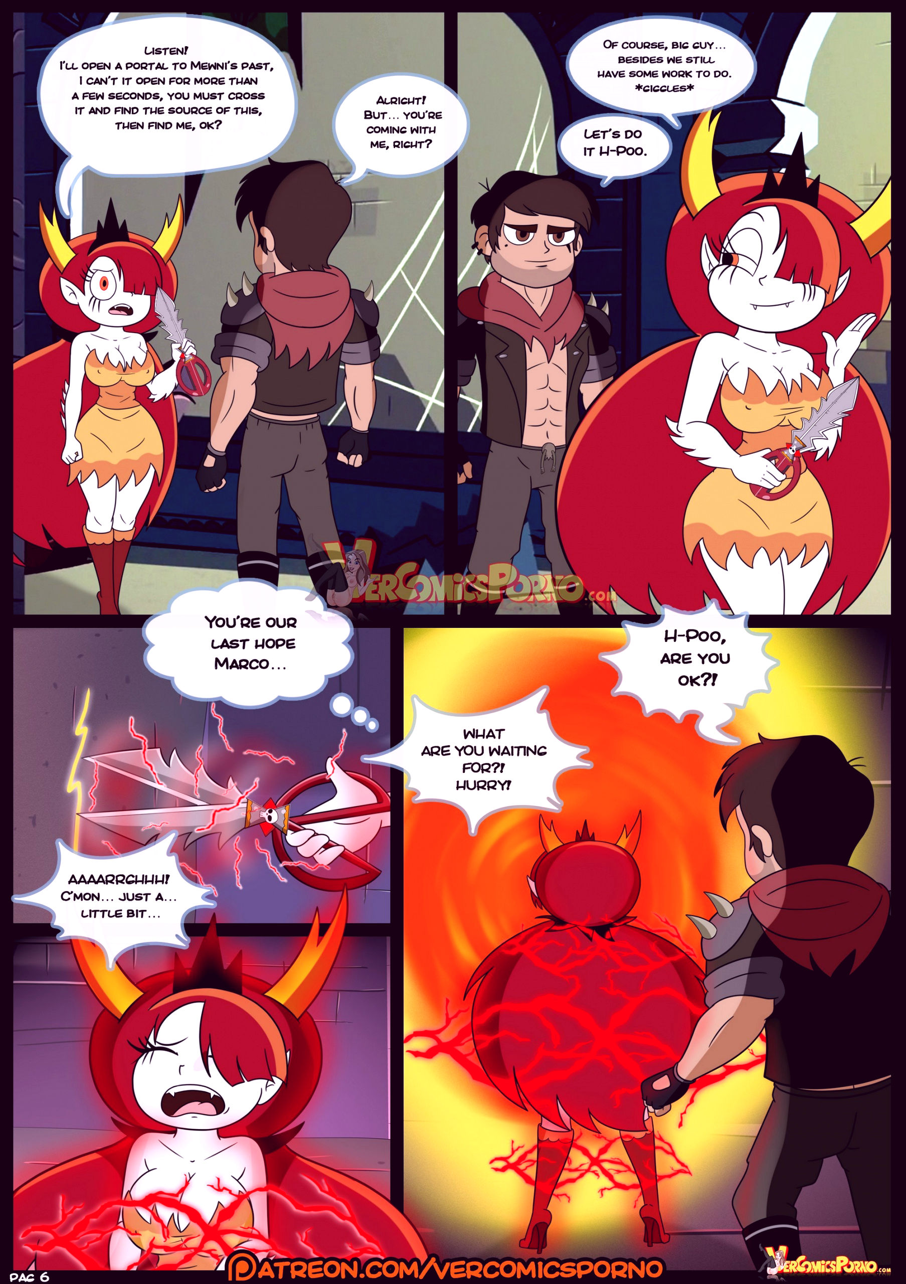 Marco vs the forces of time porn comic picture 07