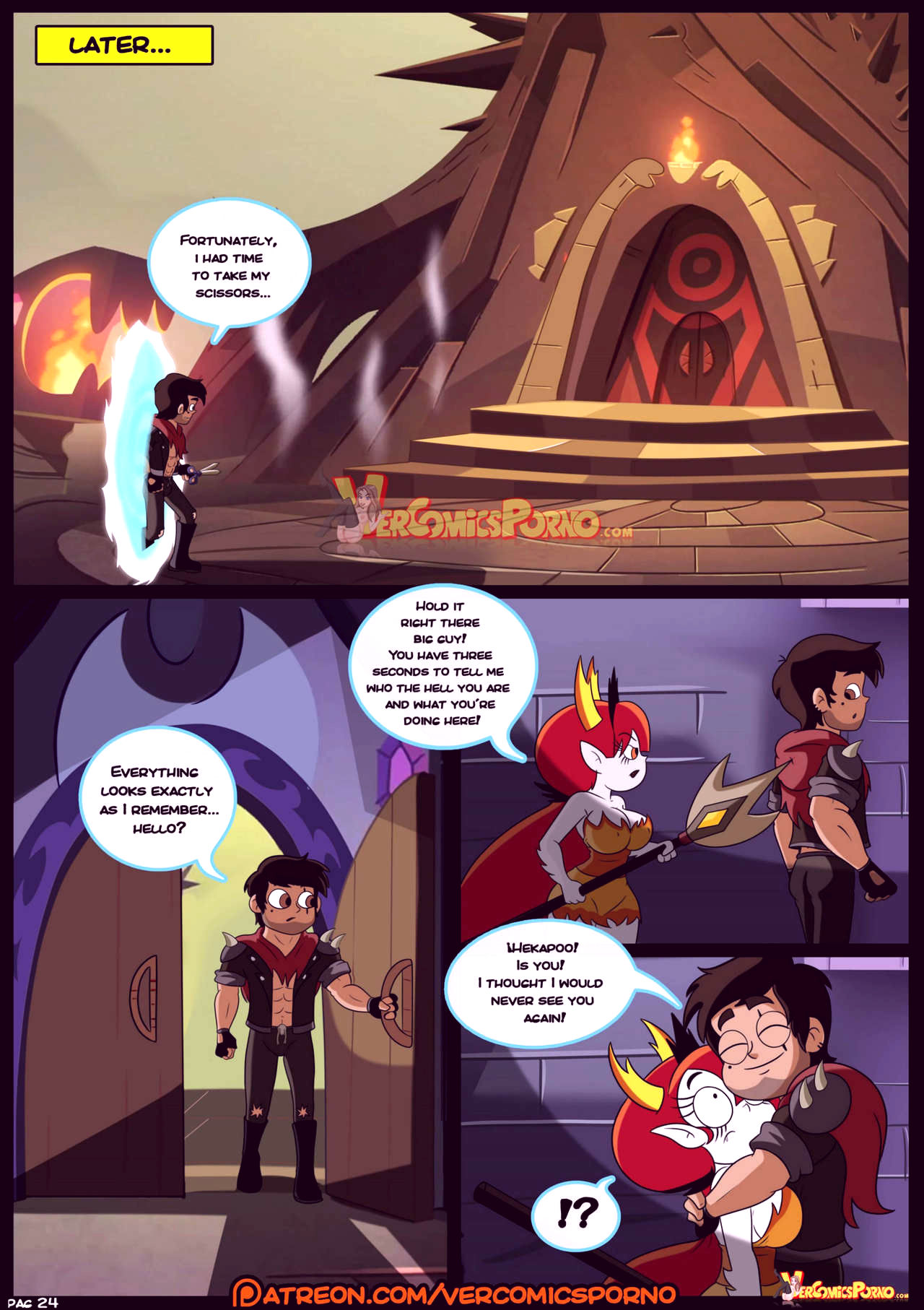 Marco vs the forces of time porn comic picture 25
