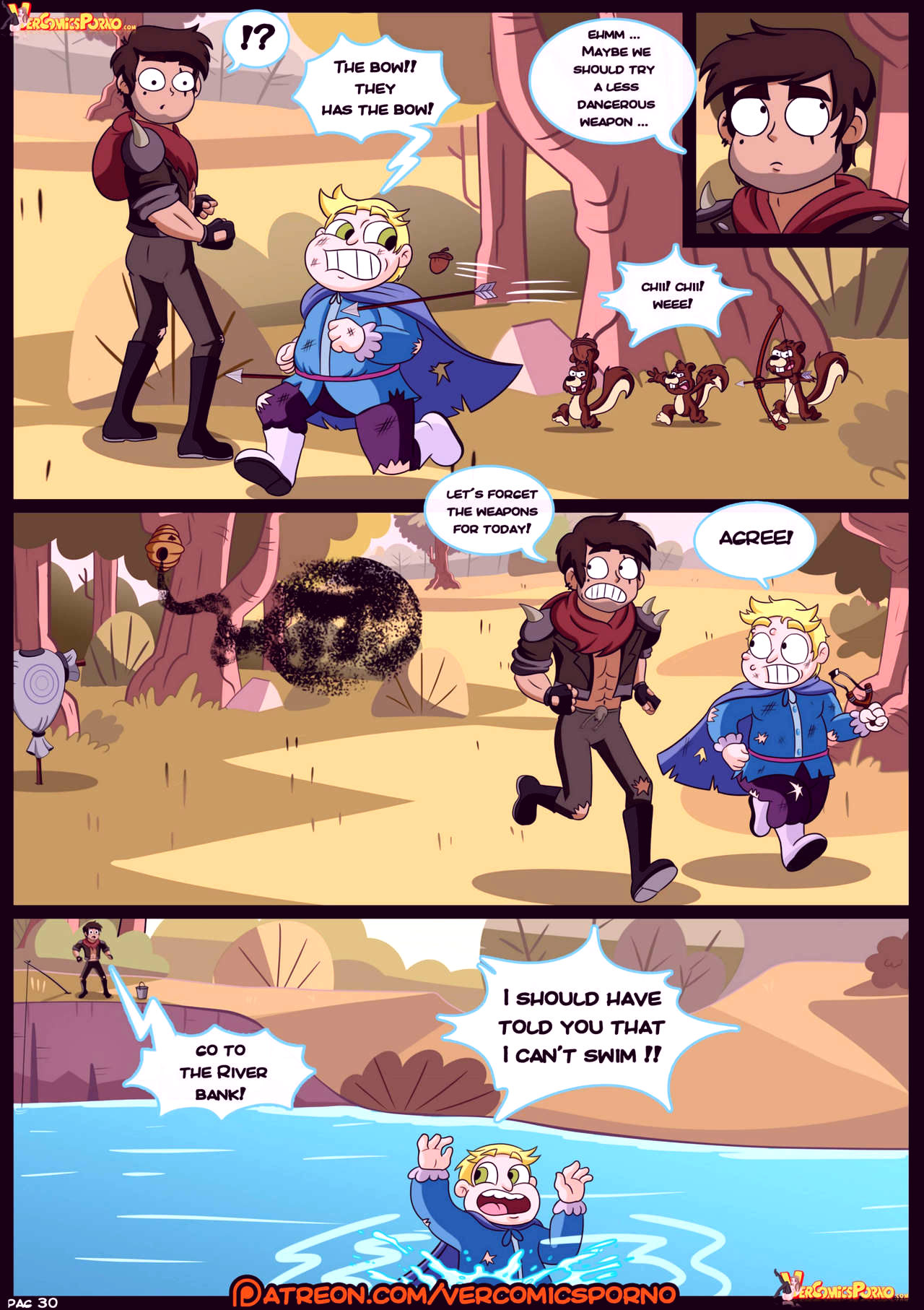 Marco vs the forces of time porn comic picture 31
