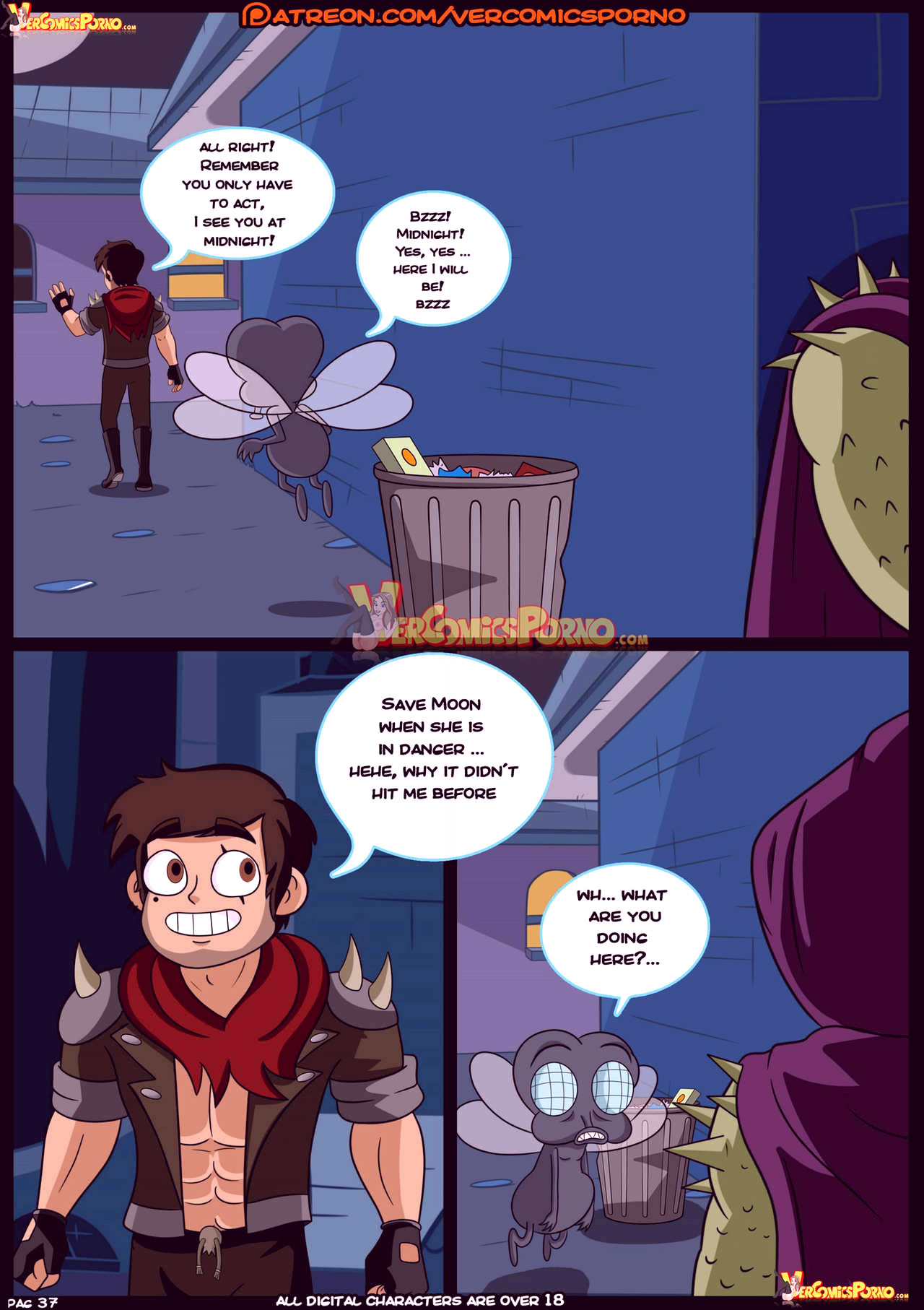 Marco vs the forces of time porn comic picture 38