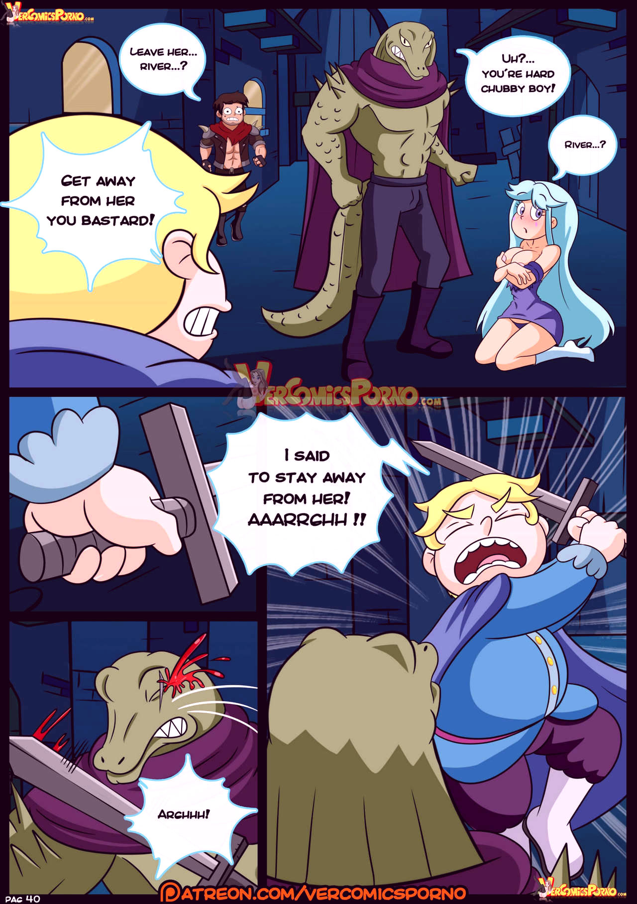 Marco vs the forces of time porn comic picture 41