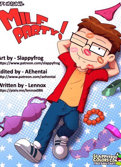 Milf party porn comic picture 01