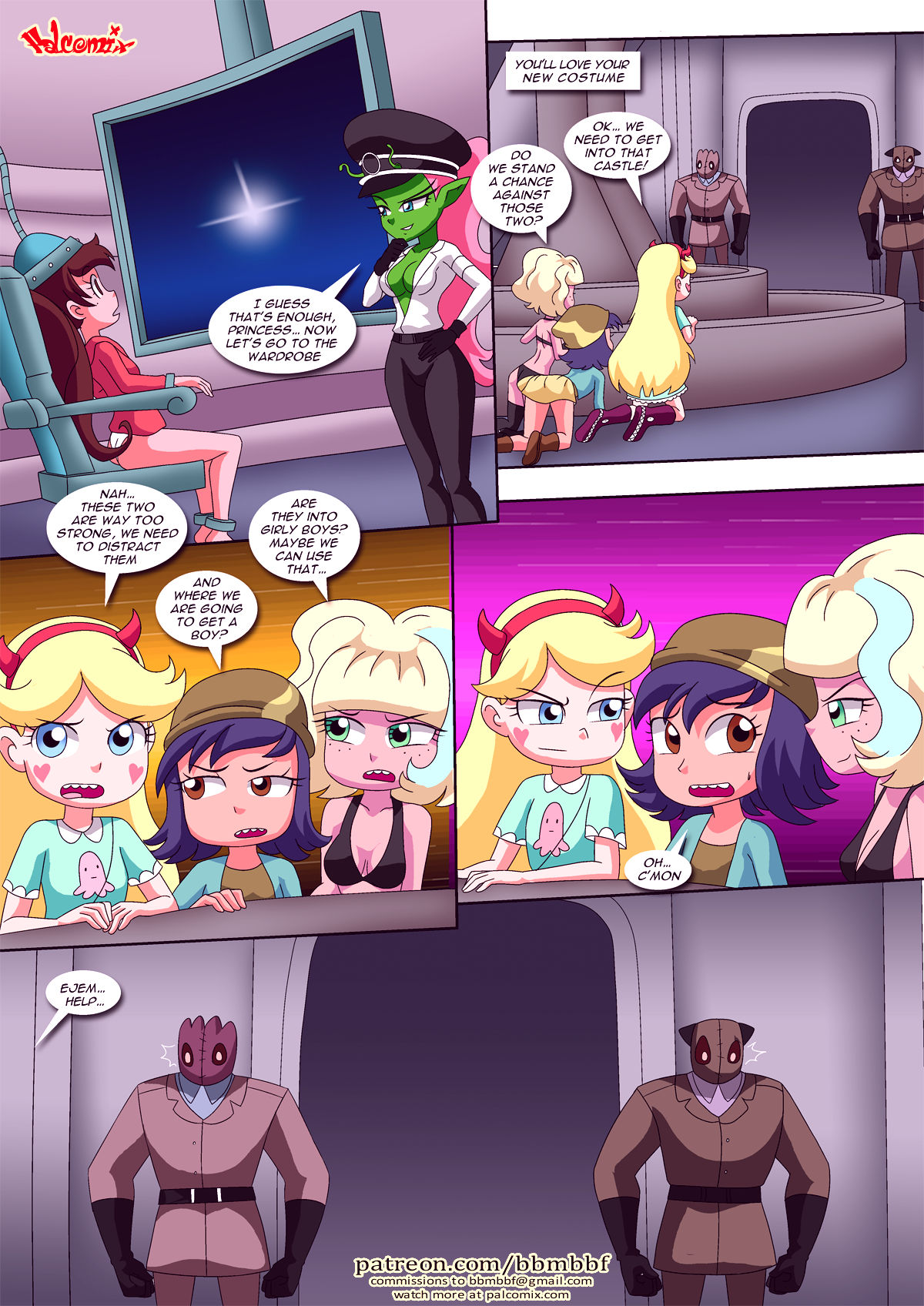 Saving princess marco porn comic picture 31