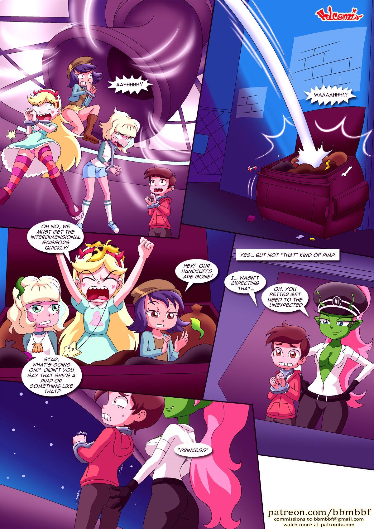 Saving princess marco porn comic picture 8