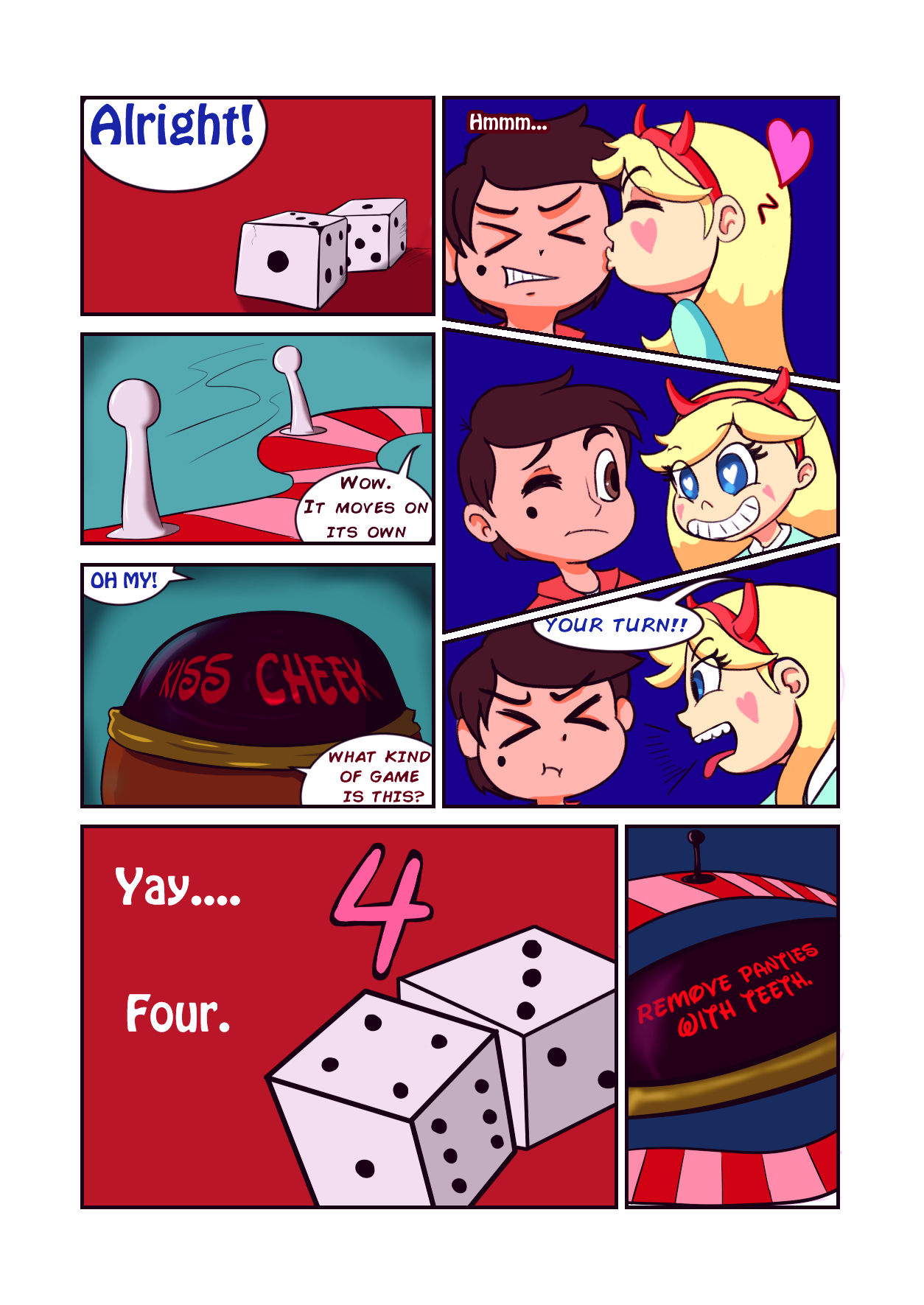 Star vs the board game of lust porn comic picture 5