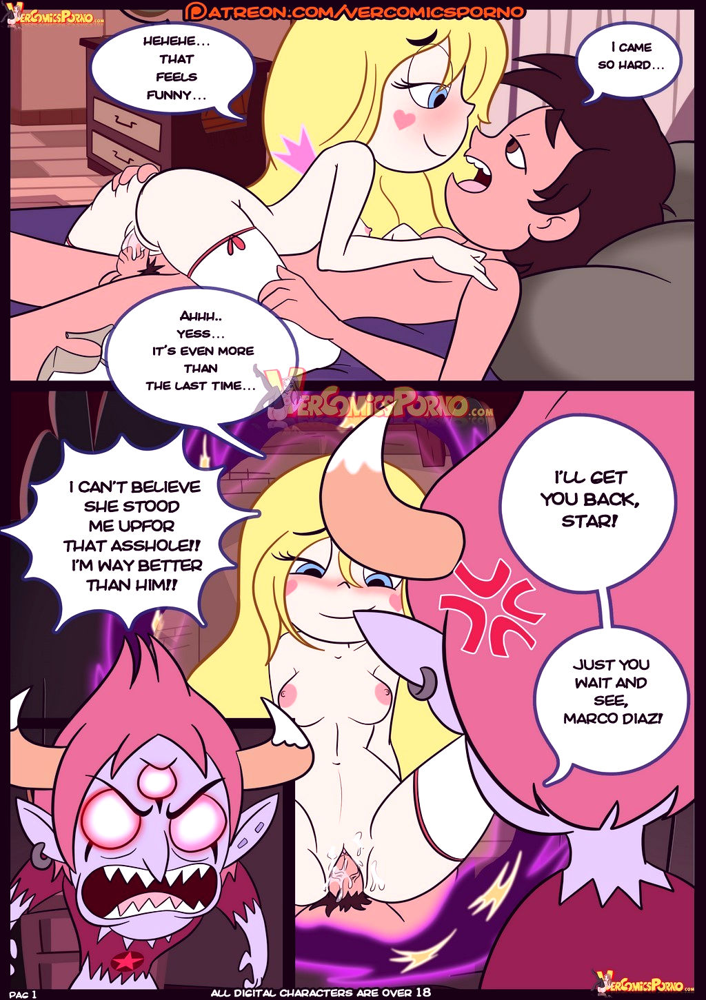 Star vs the forces of sex 3 porn comic picture 2