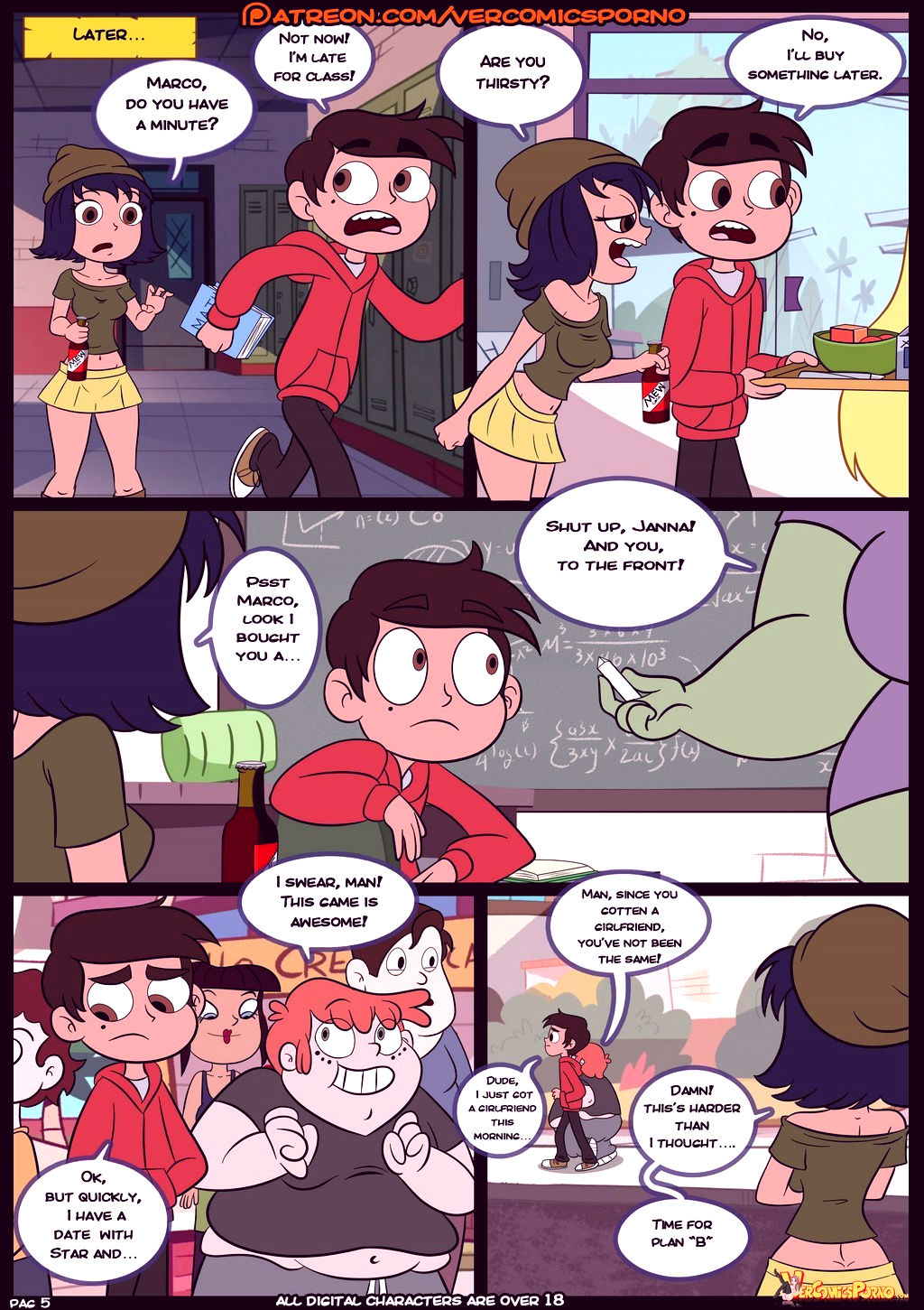 Star vs the forces of sex 3 porn comic picture 6