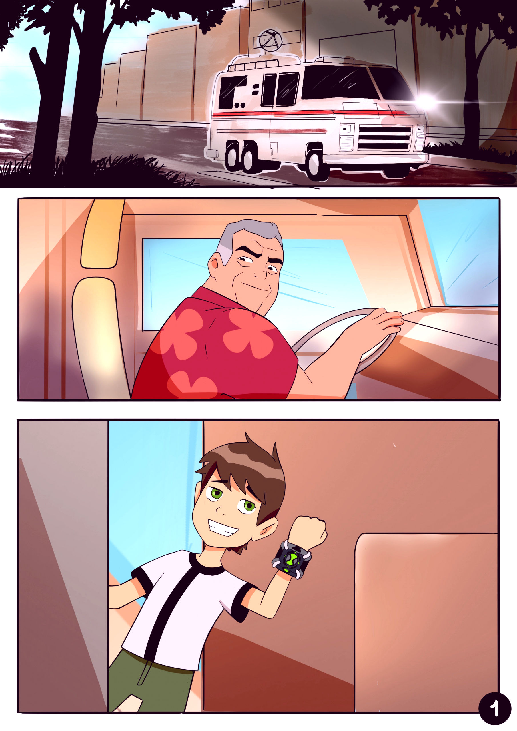 Amazing adventures of gwen and her abusive grandfather porn comic picture 1