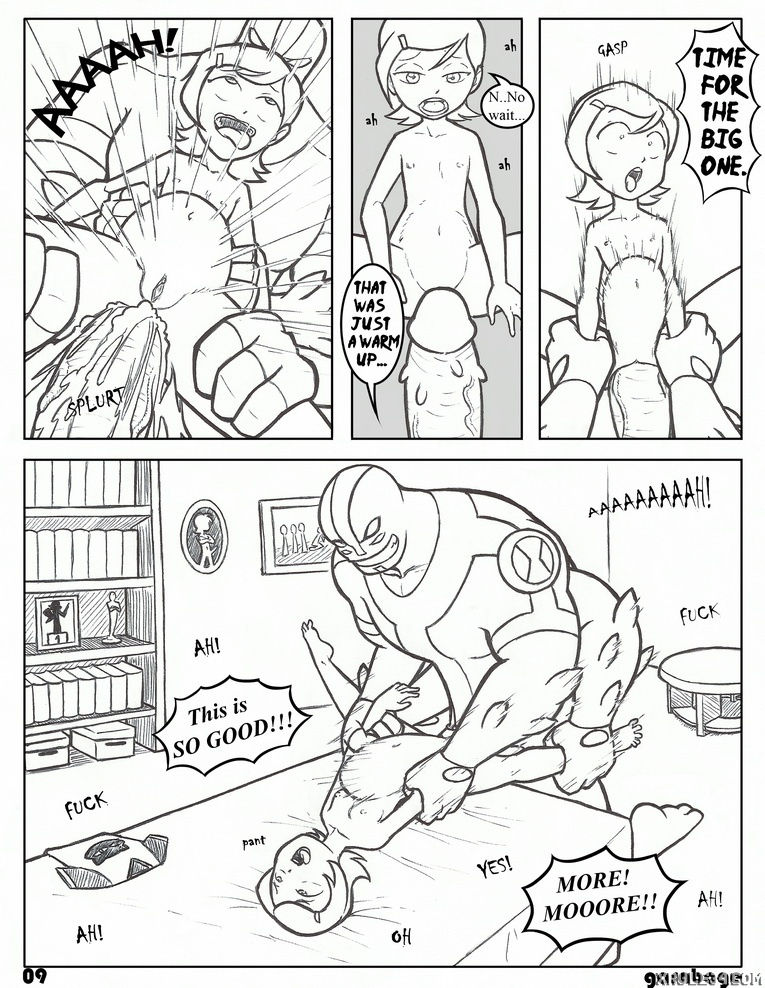 Ben summer porn comic picture 9