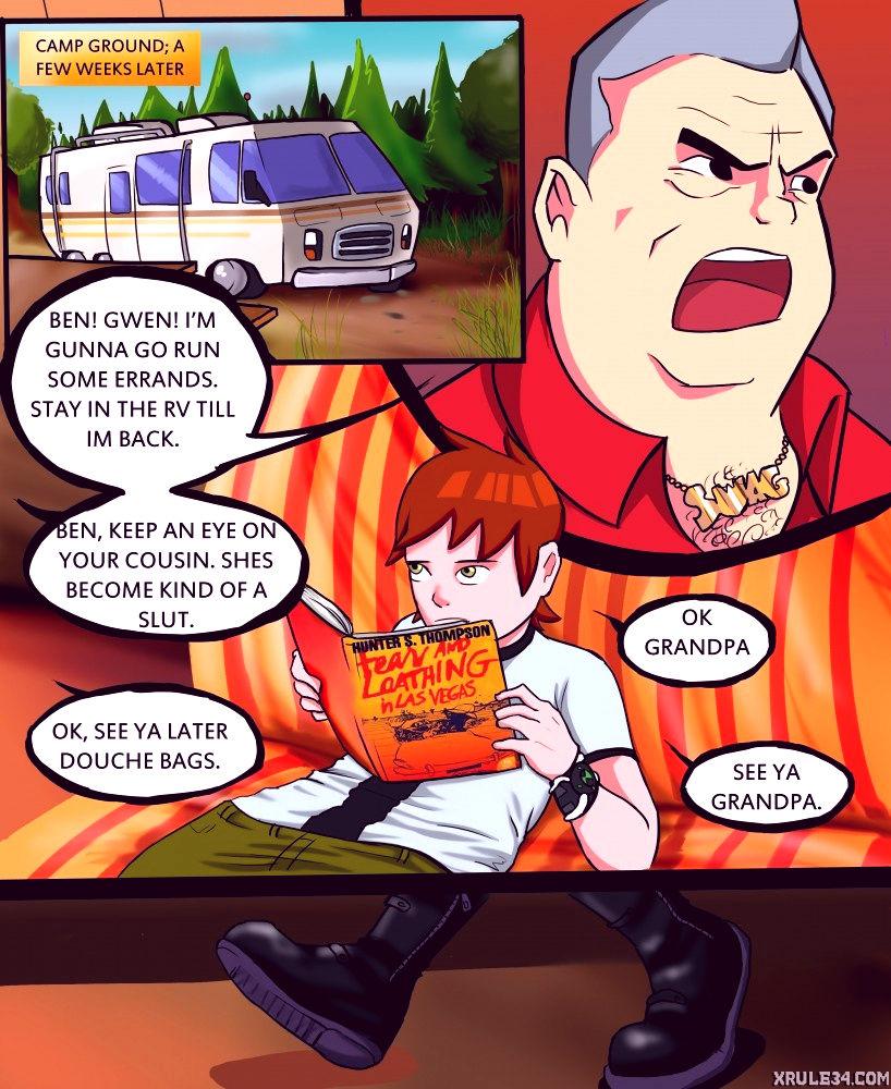 Campground porn comic picture 1