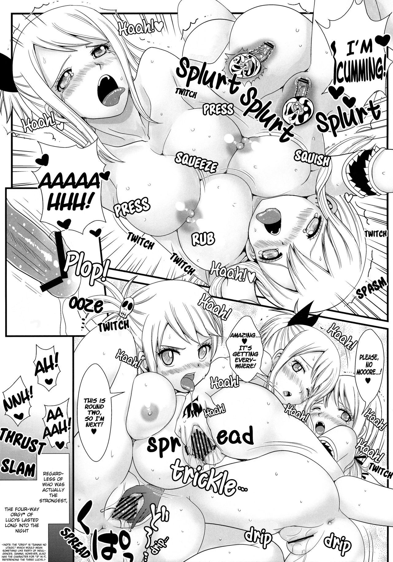 Double lucy hentai manga picture 32