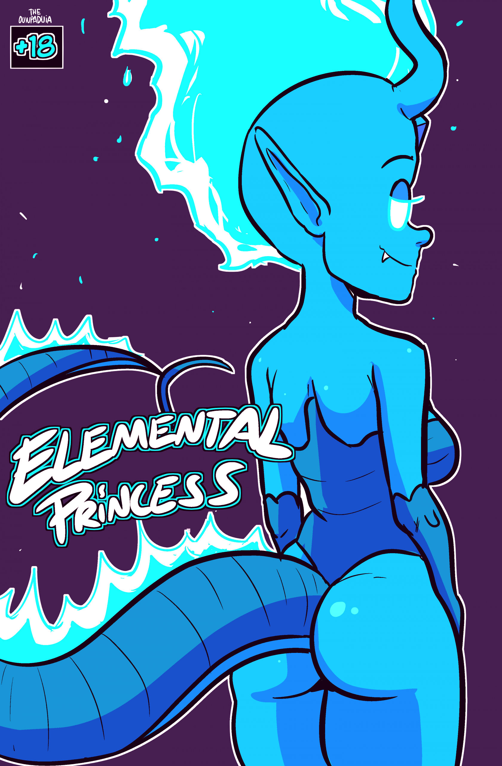 Elemental princess porn comic picture 1
