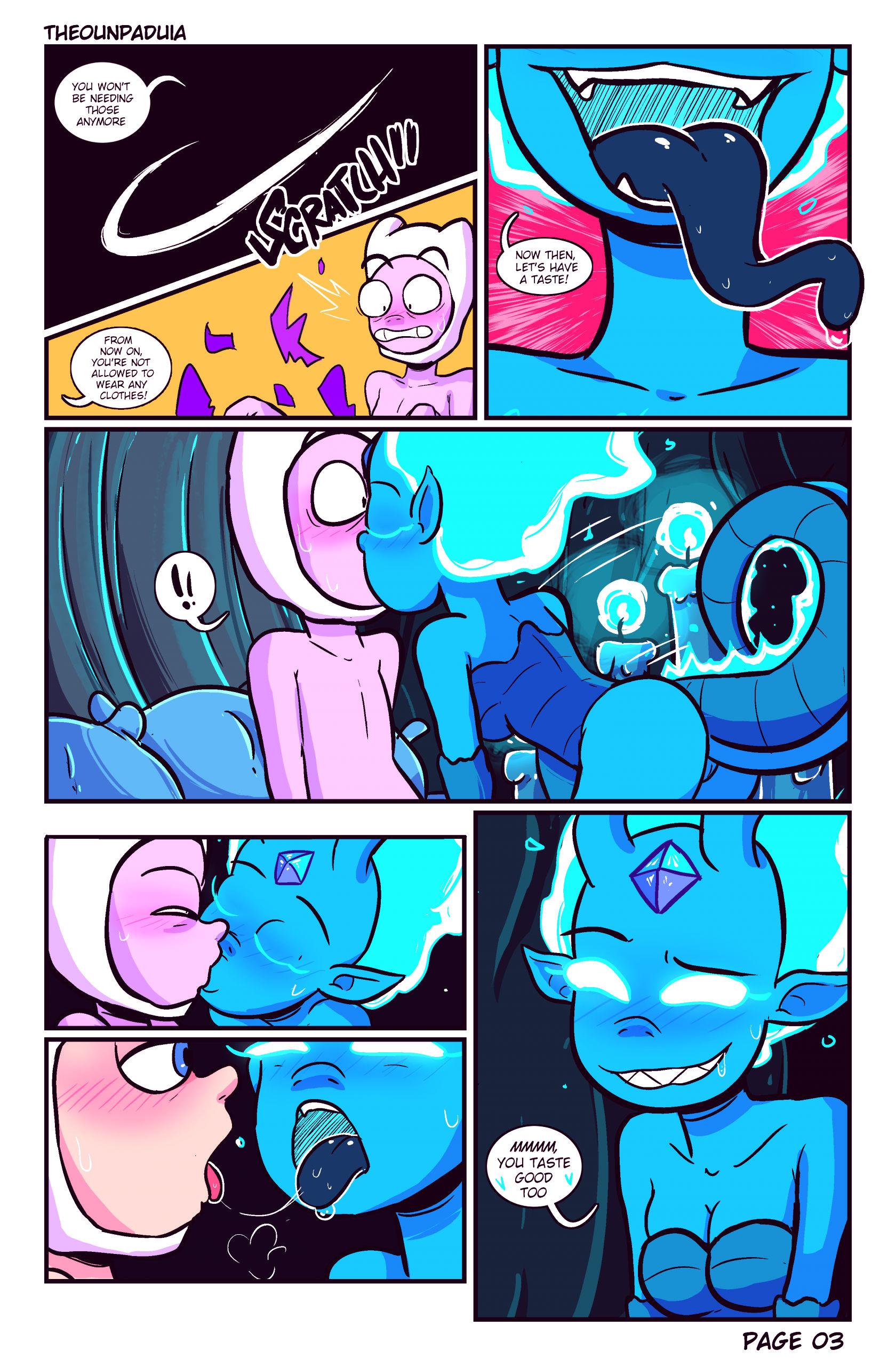 Elemental princess porn comic picture 4
