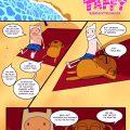 Gotta stretch that laffy taffy porn comic picture 1