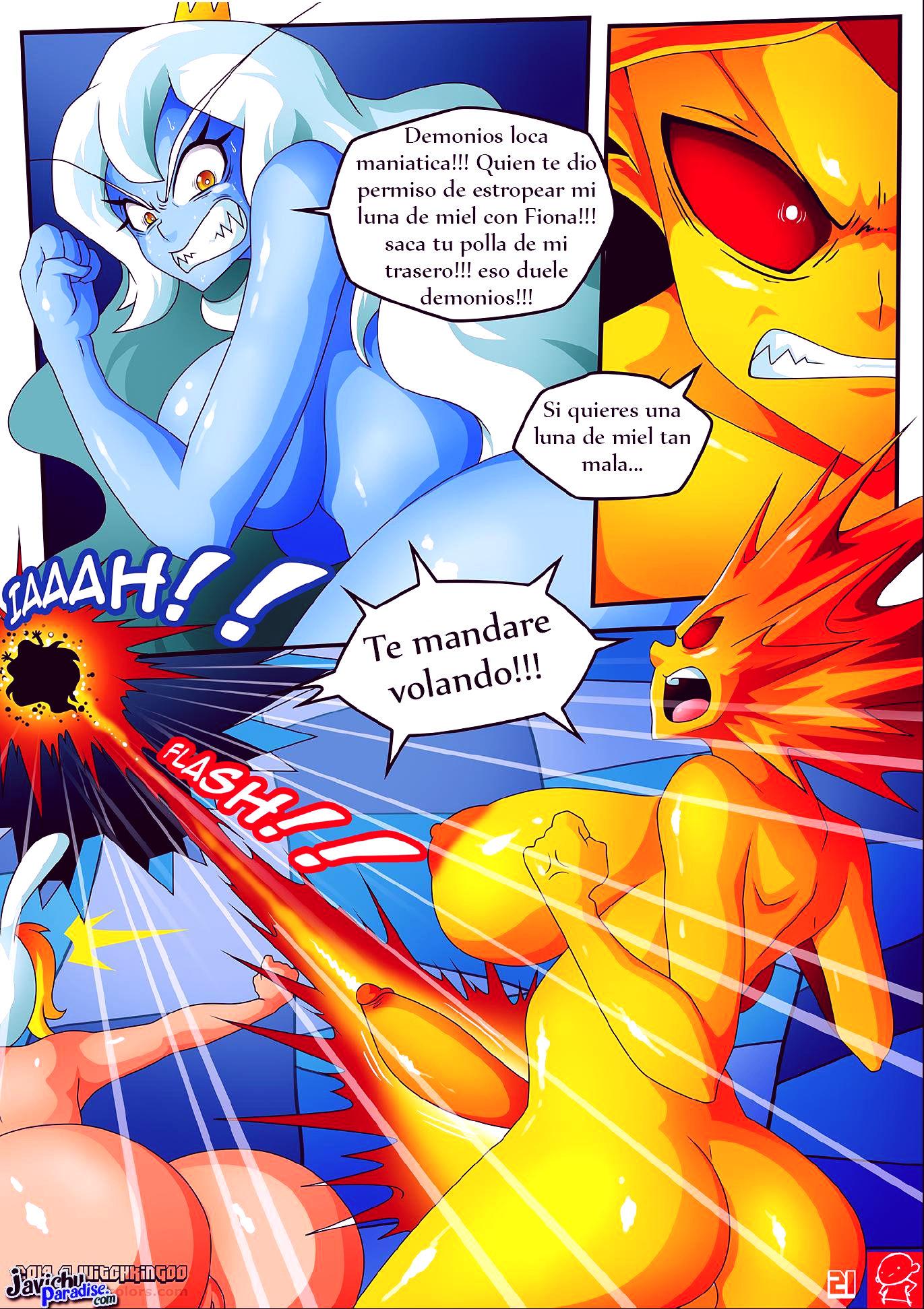 Hora de aventura ice age porn comic picture 22
