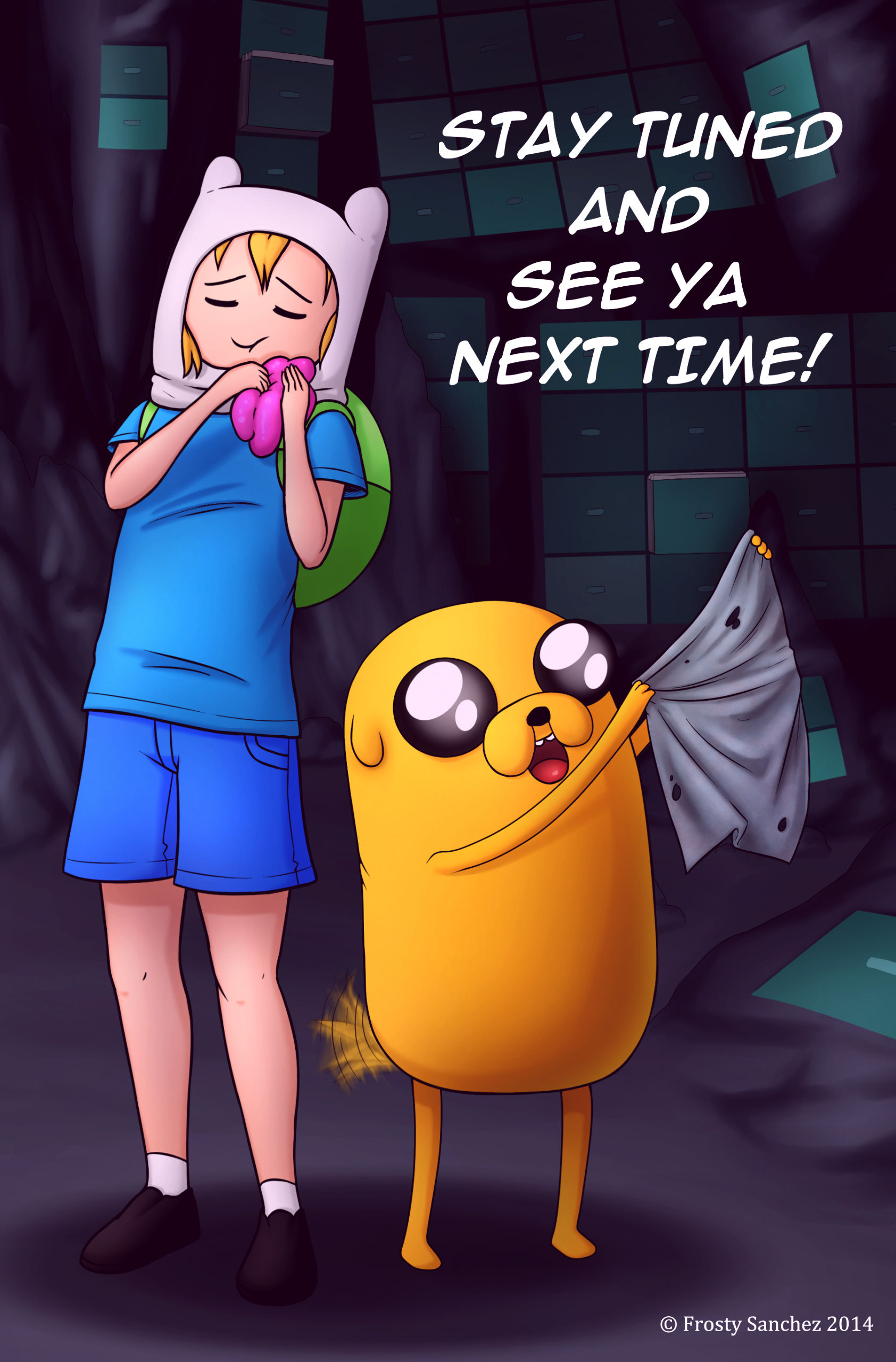Misadventure time 2 what was missing porn comic picture 27