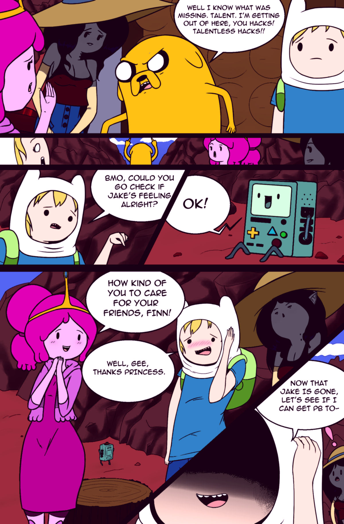 Misadventure time 2 what was missing porn comic picture 4
