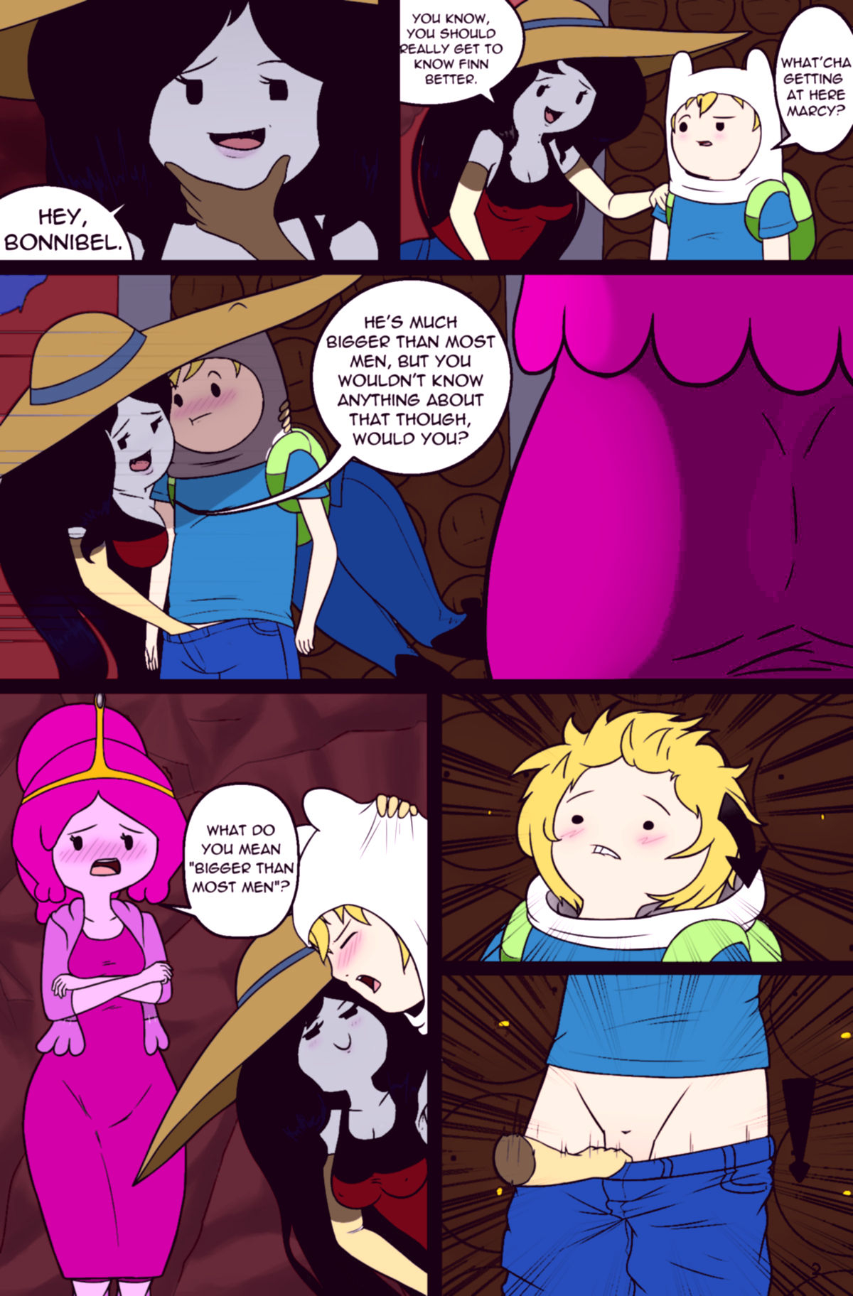 Misadventure time 2 what was missing porn comic picture 5