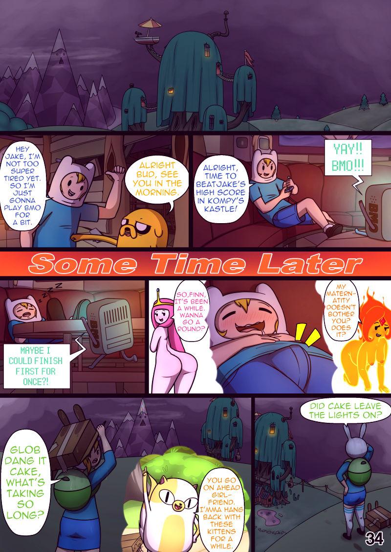Misadventure time 3 vault of boners porn comic picture 35