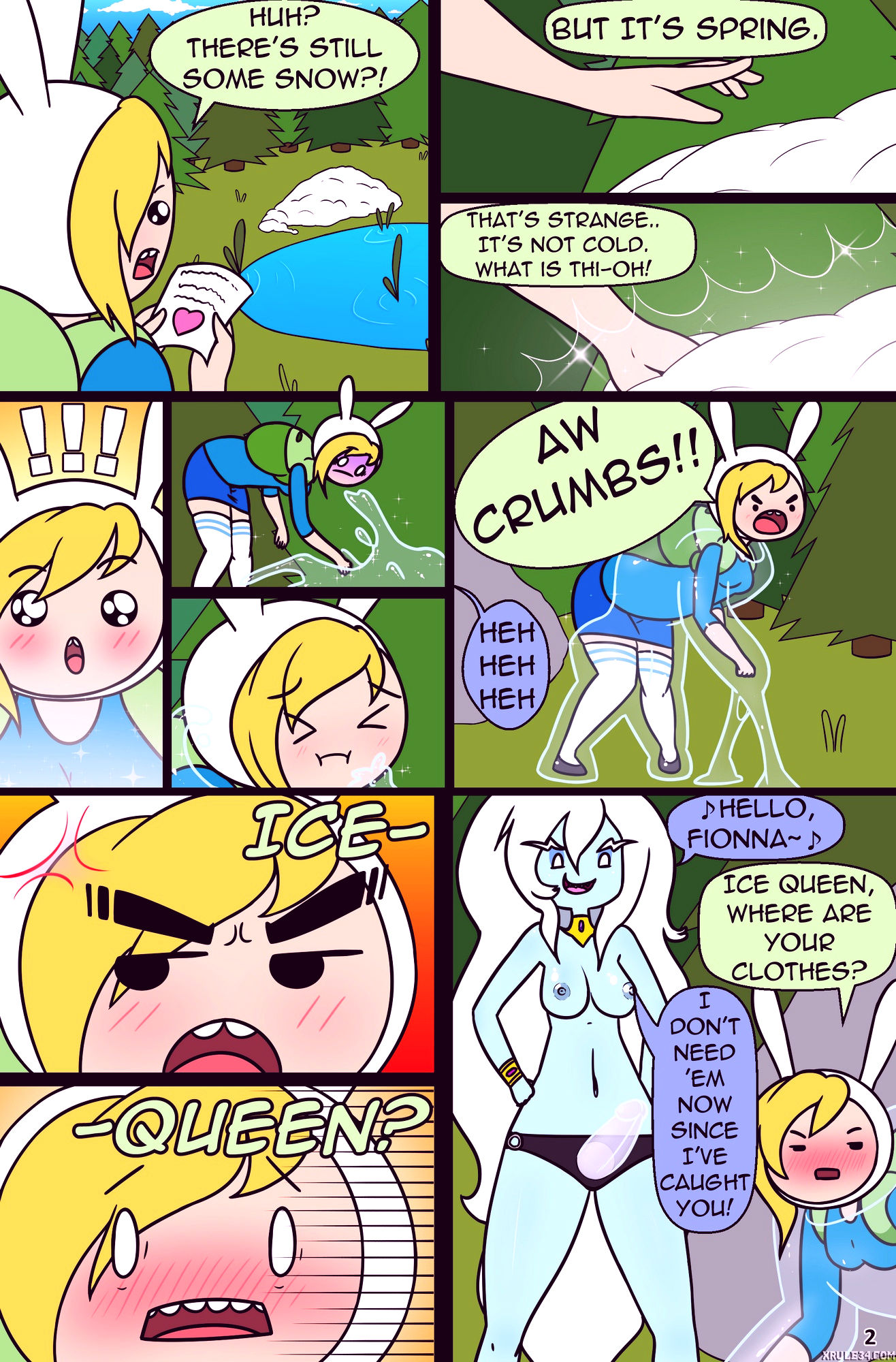 Misadventure time spring special the cat the queen and the forest porn comic picture 3
