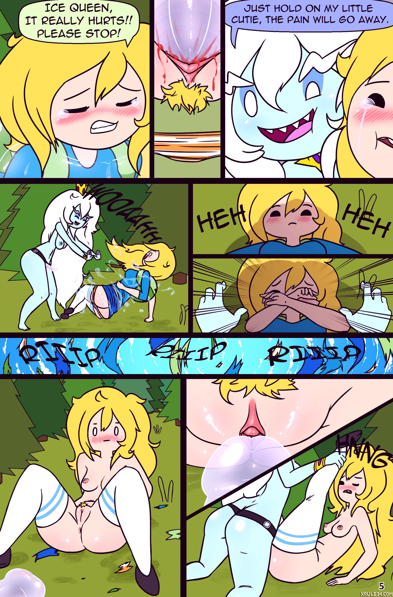 Misadventure time spring special the cat the queen and the forest porn comic picture 5