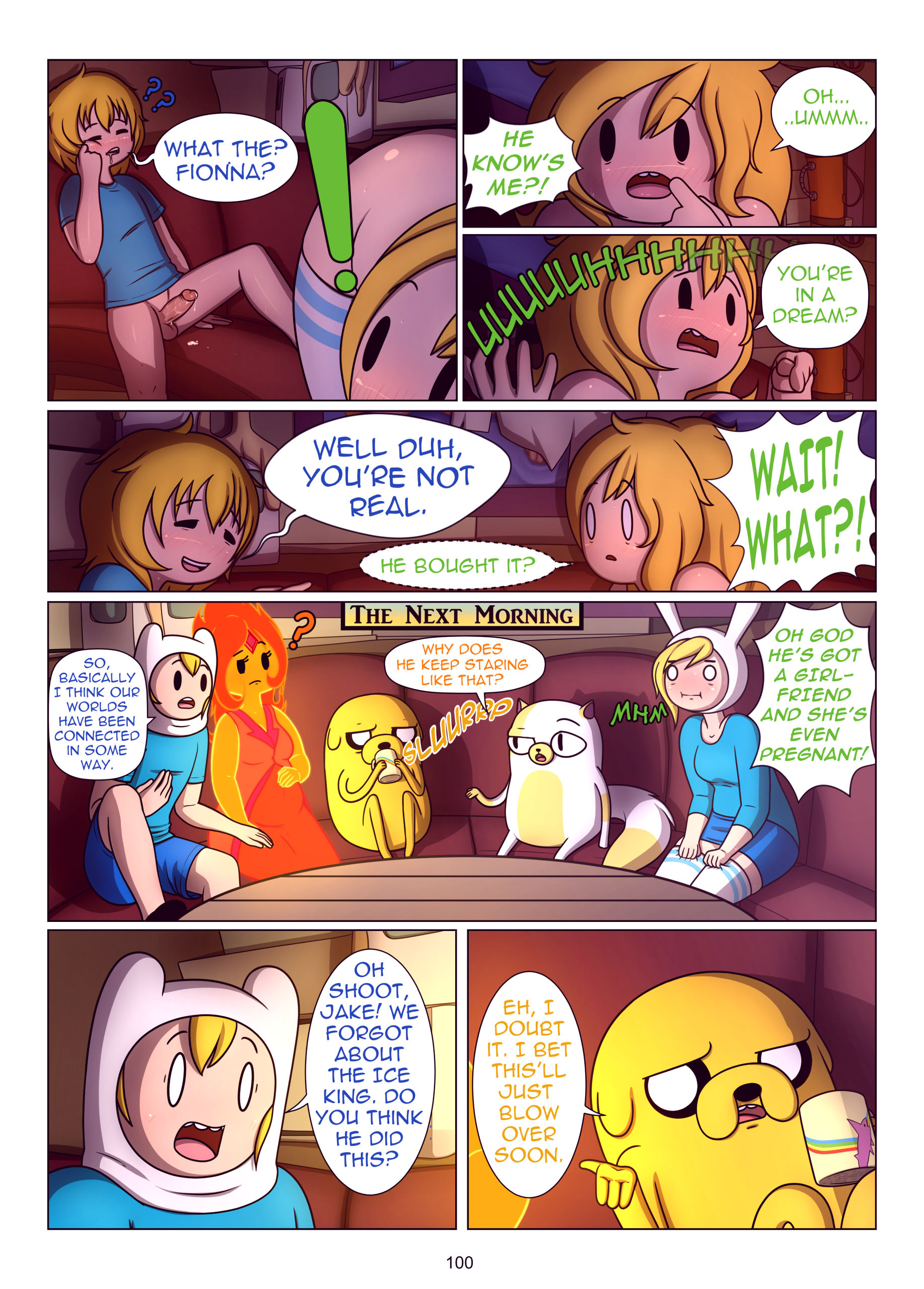 Misadventure time the collection porn comic picture 101