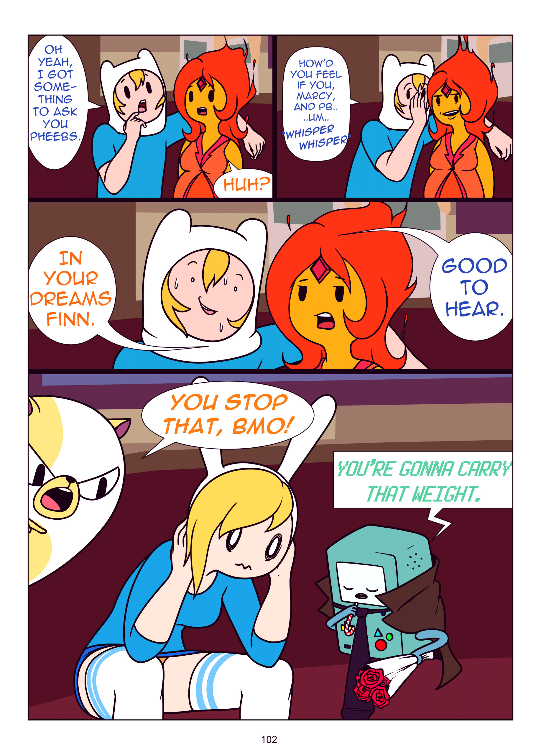 Misadventure time the collection porn comic picture 103
