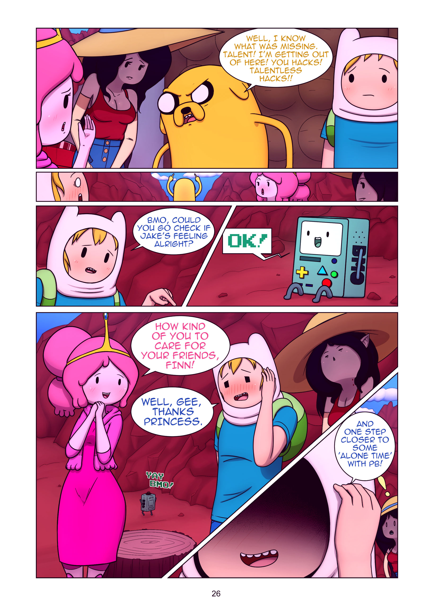 Misadventure time the collection porn comic picture 27