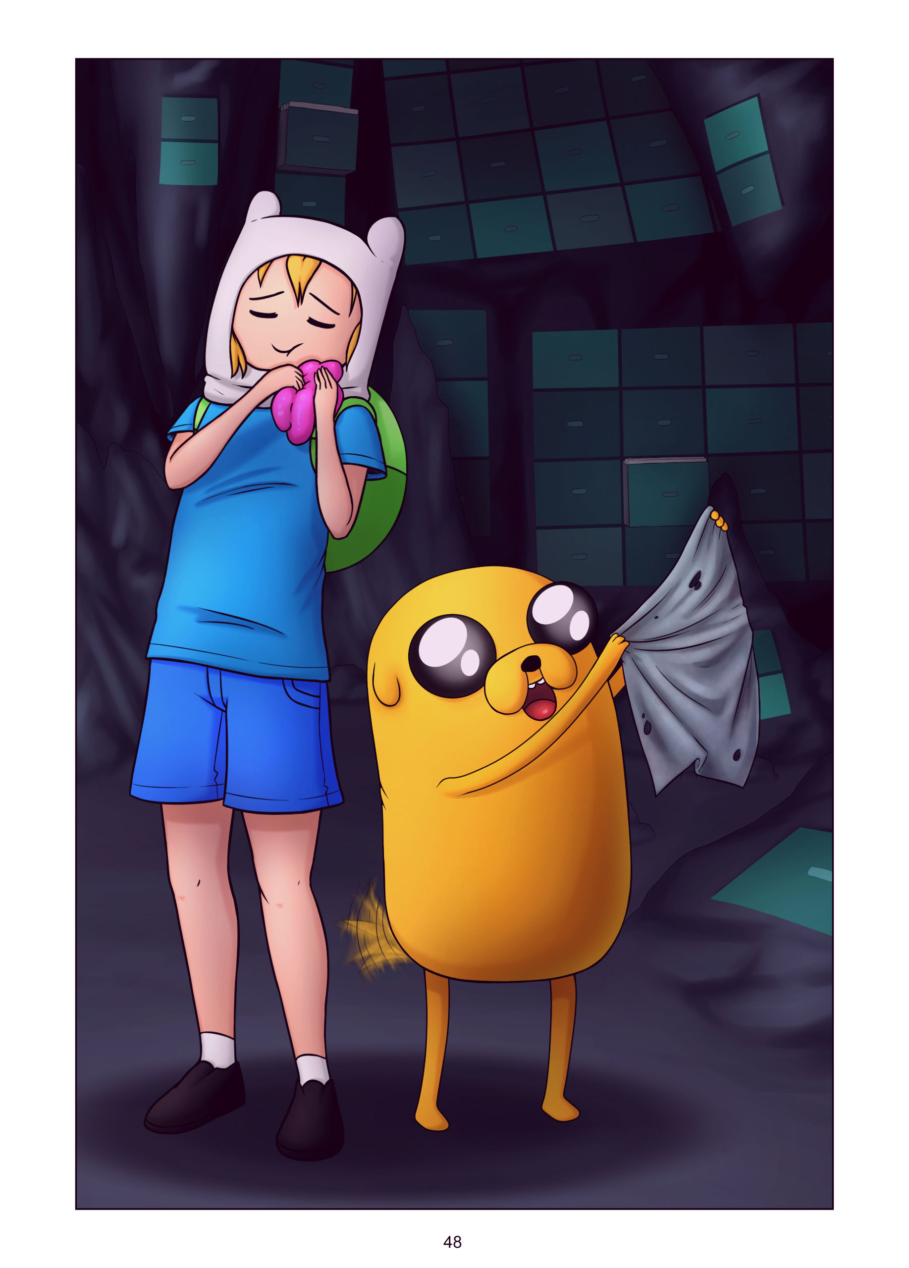 Misadventure time the collection porn comic picture 49