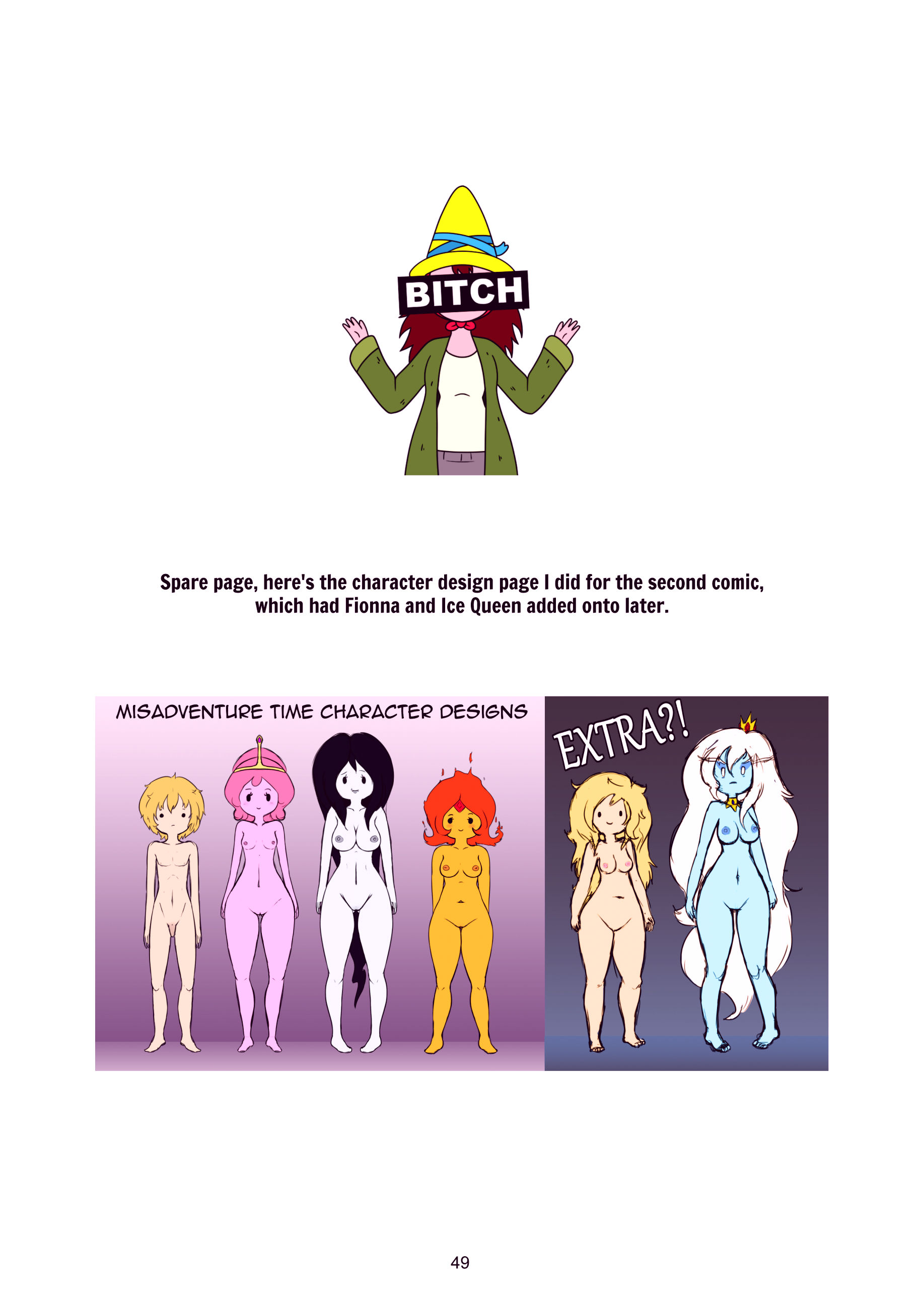 Misadventure time the collection porn comic picture 50