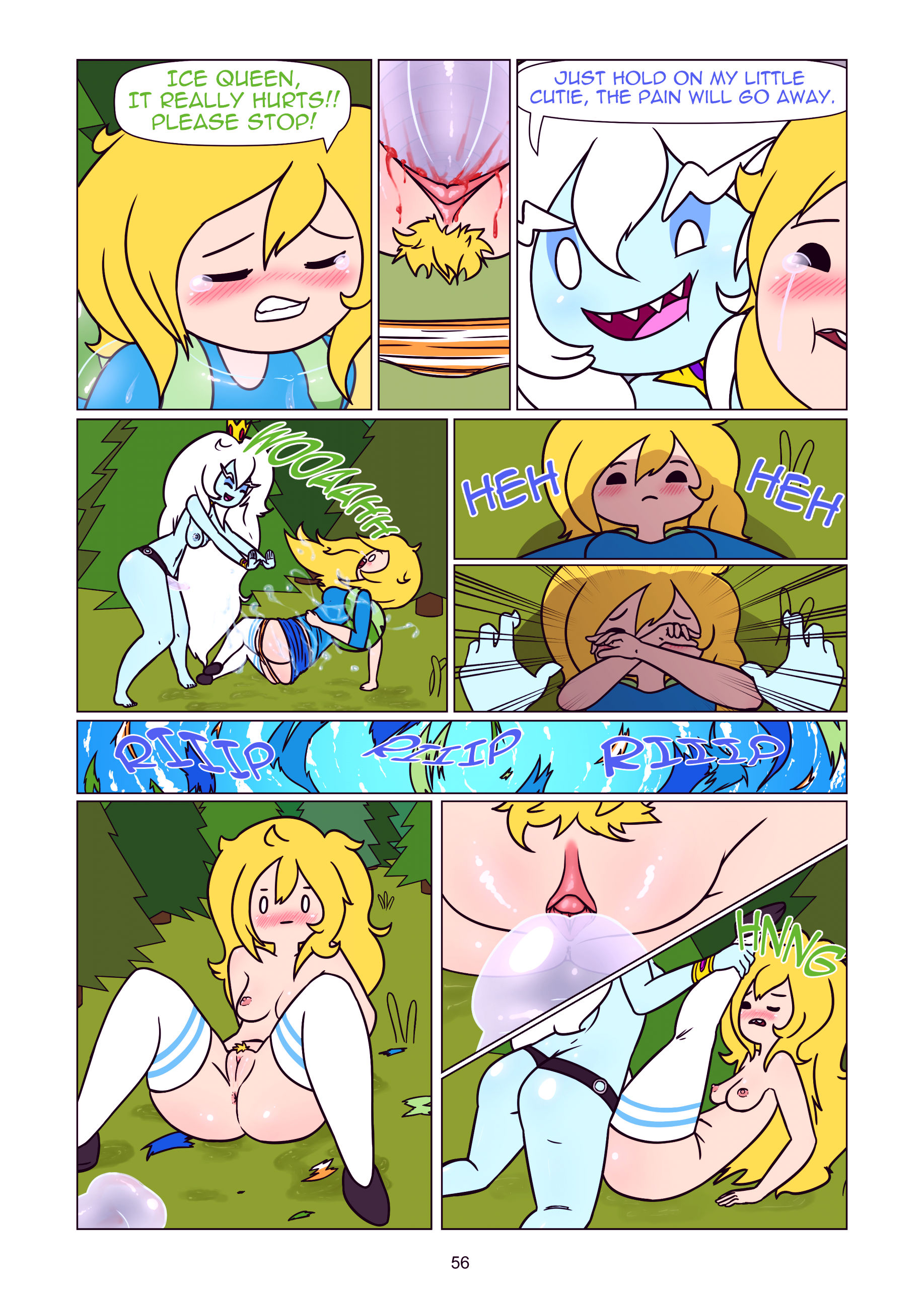 Misadventure time the collection porn comic picture 57