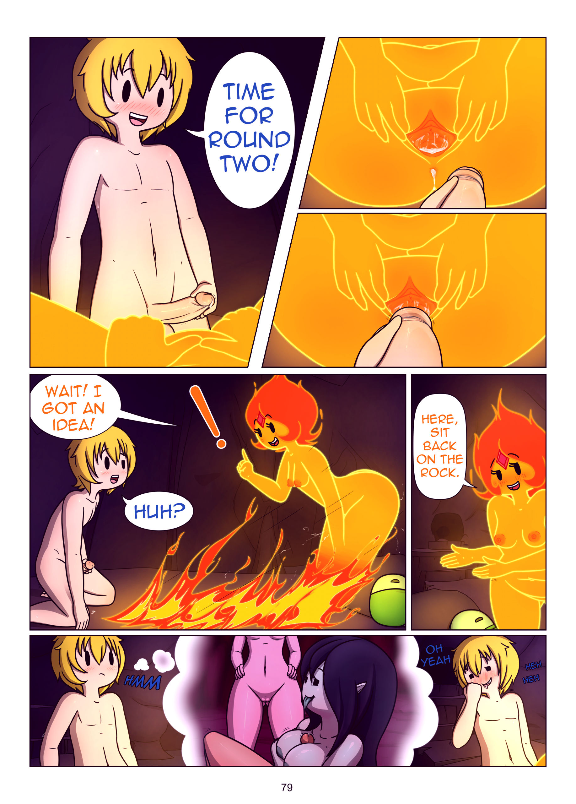 Misadventure time the collection porn comic picture 80