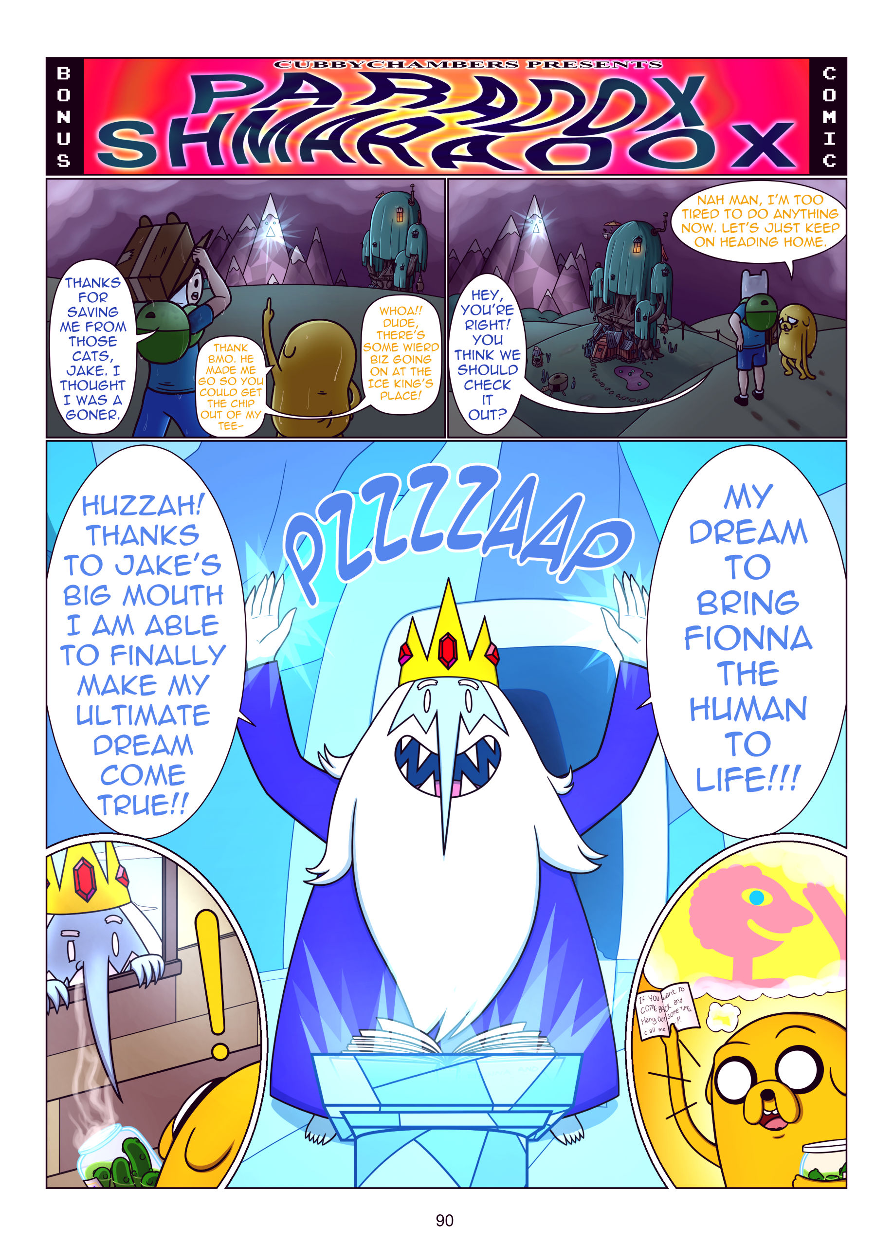 Misadventure time the collection porn comic picture 91