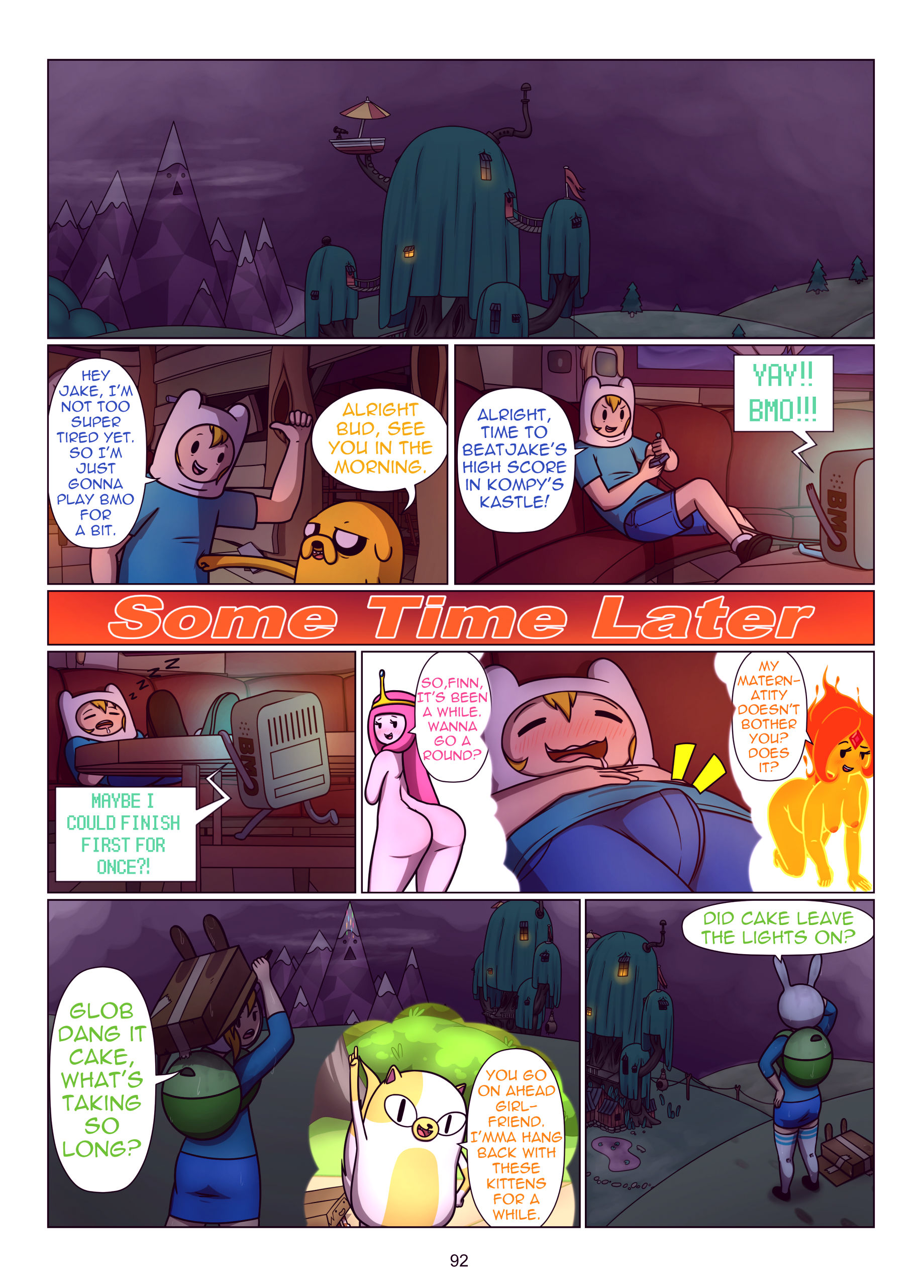 Misadventure time the collection porn comic picture 93