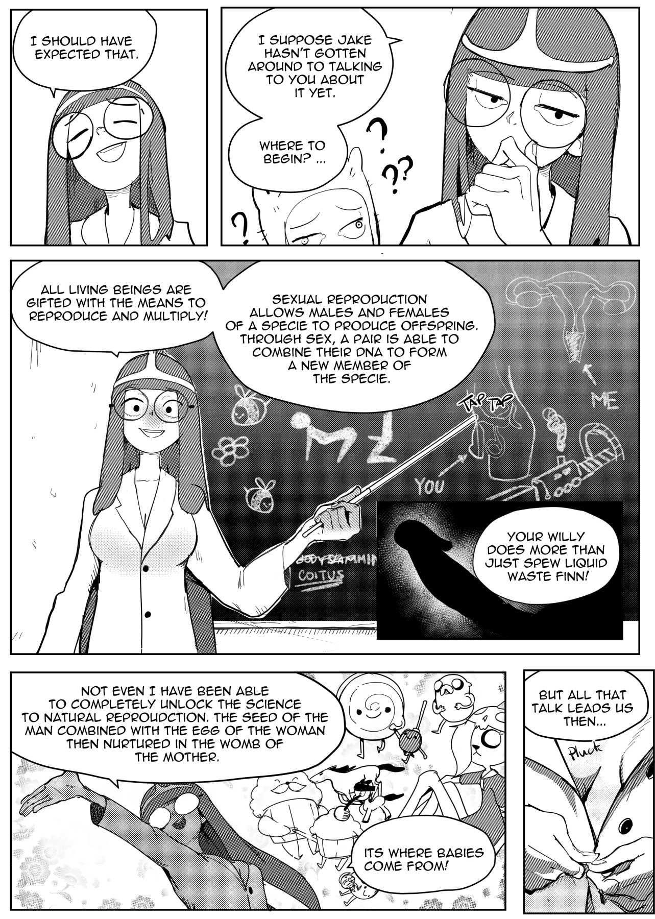 Reproduction time vol 01 porn comic picture 4