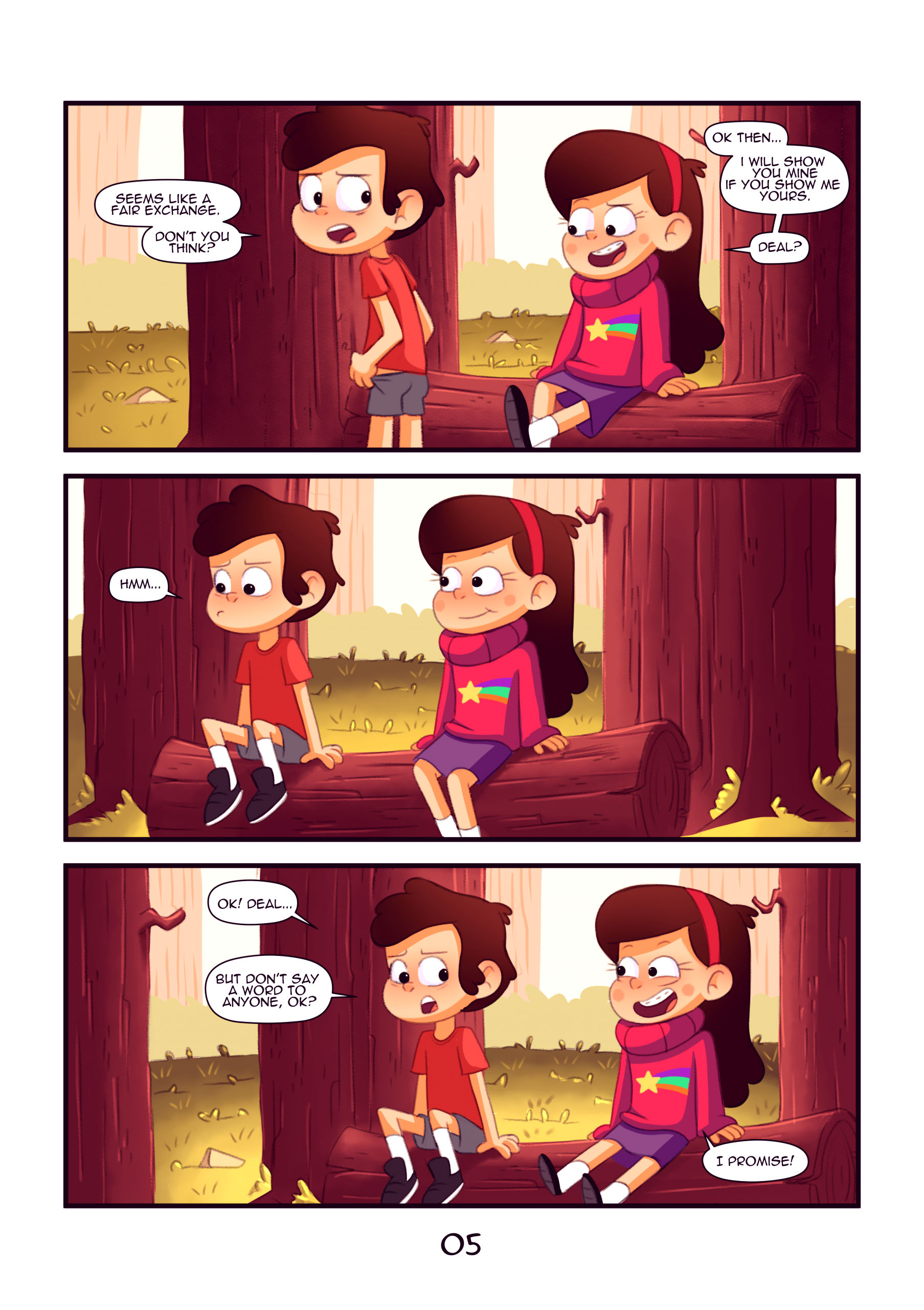 Secret of the woods porn comic picture 6