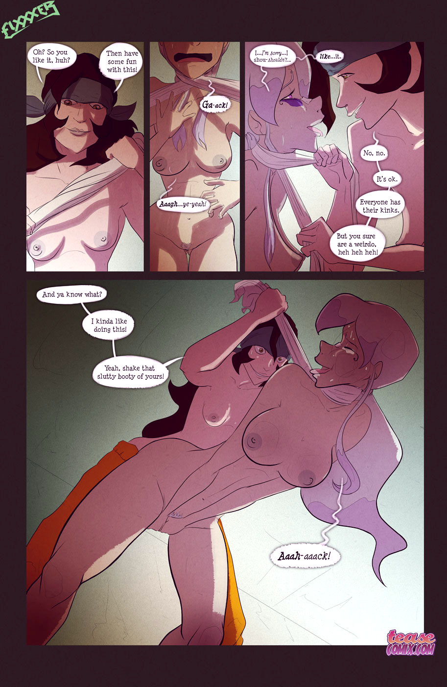 The witch with no name porn comic picture 29
