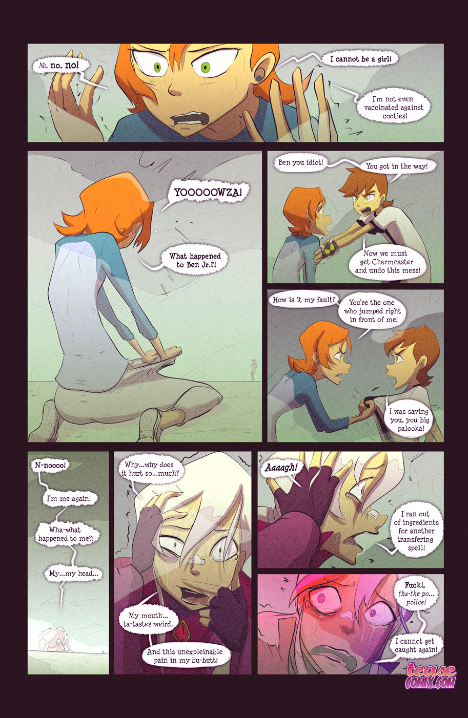 The witch with no name porn comic picture 64